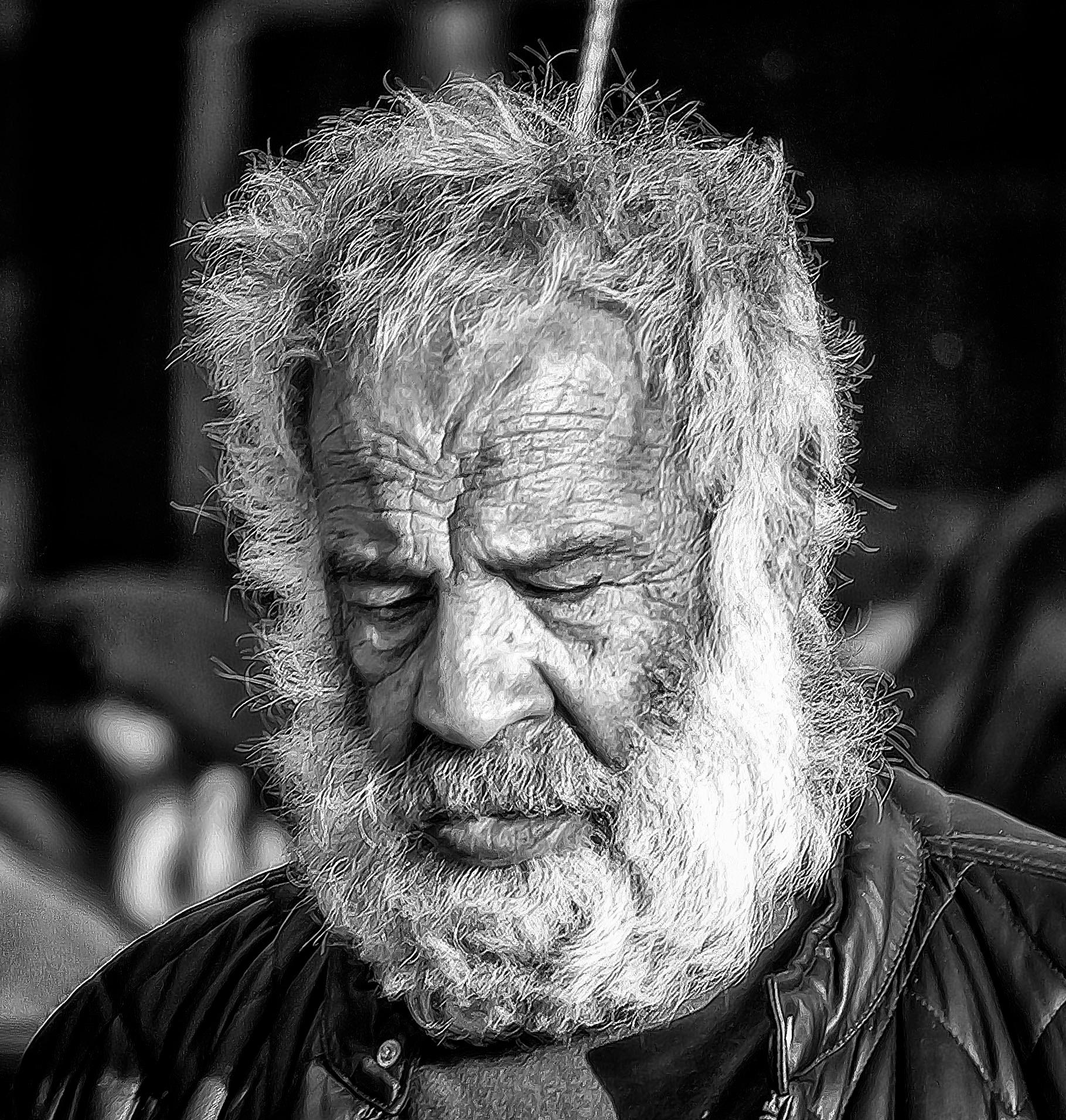 Street Portrait 1 by michaelheard1962