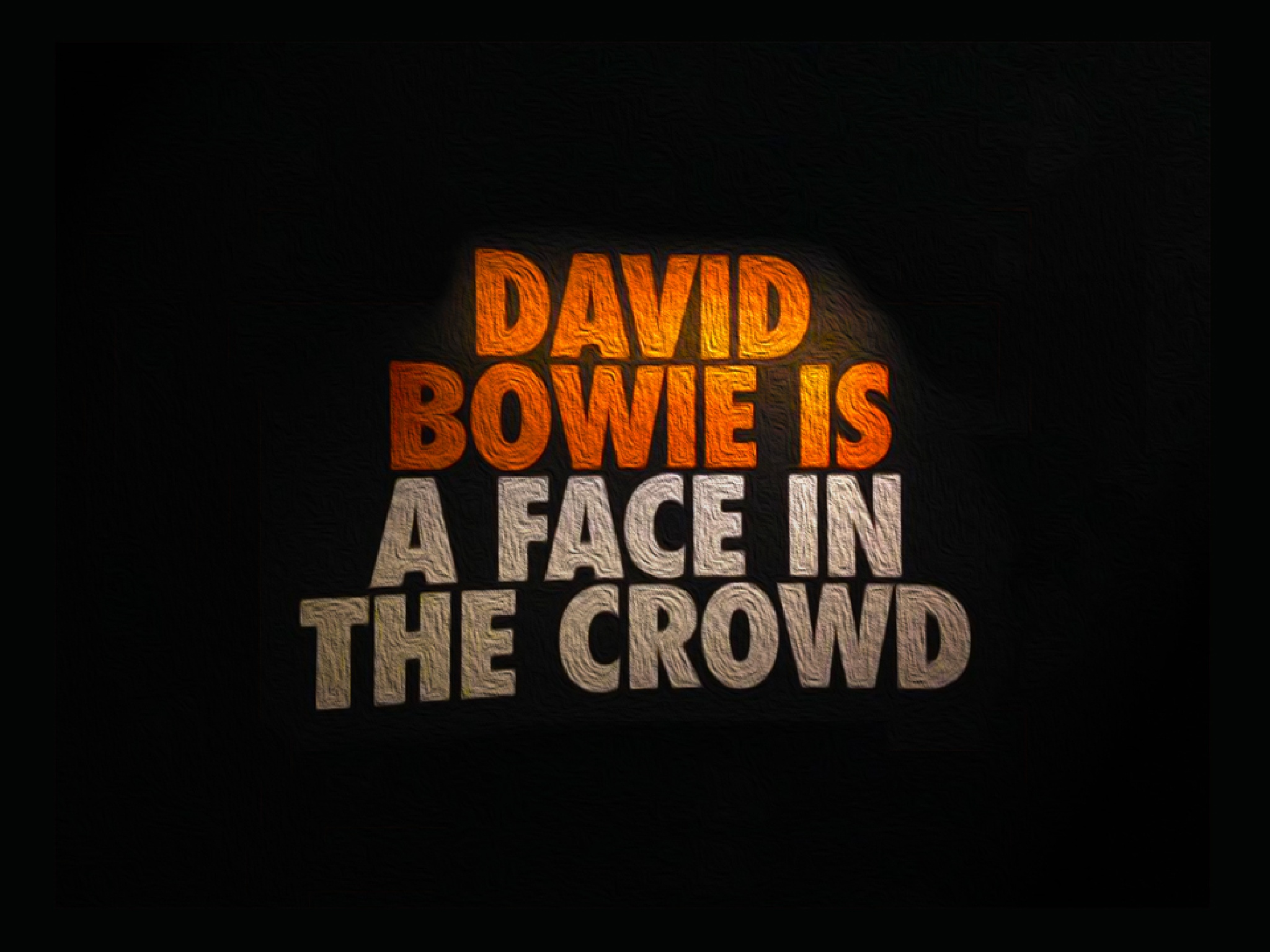 David Bowie R.I.P 10-01-2016 thanks you for the music by rob.sliep.3