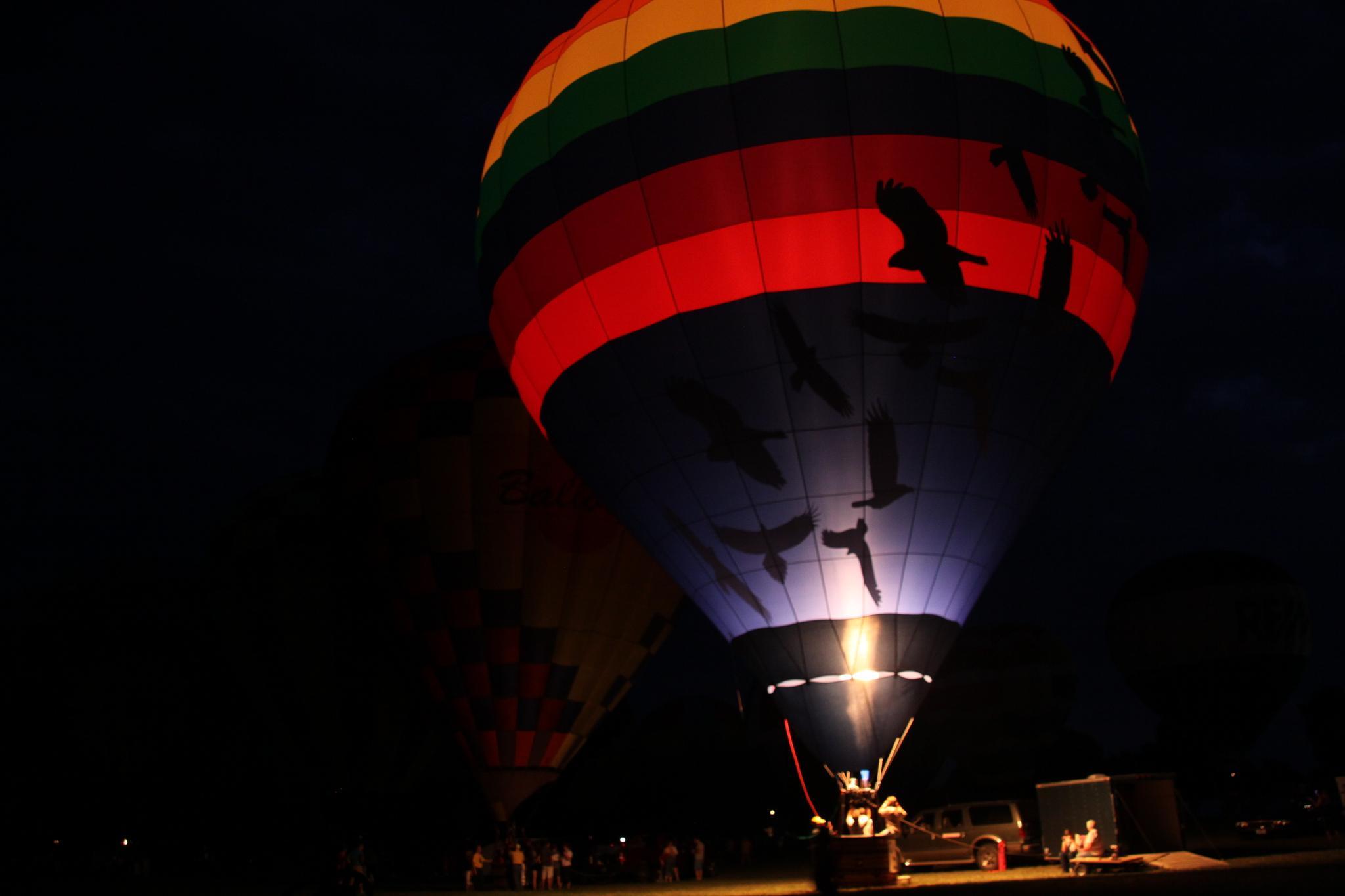 Balloon Glow 3 by Ryan W. Niemiec
