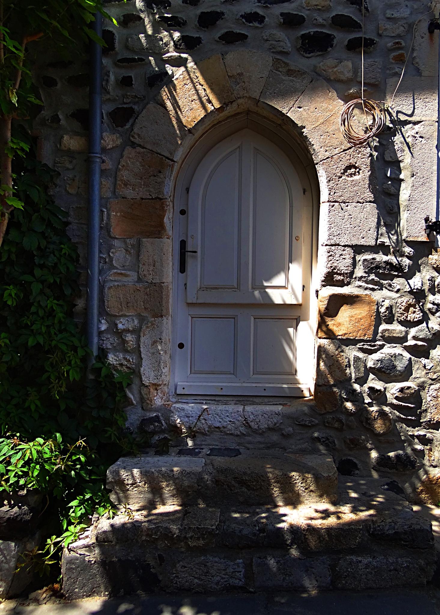 the door by Krystyna Flis