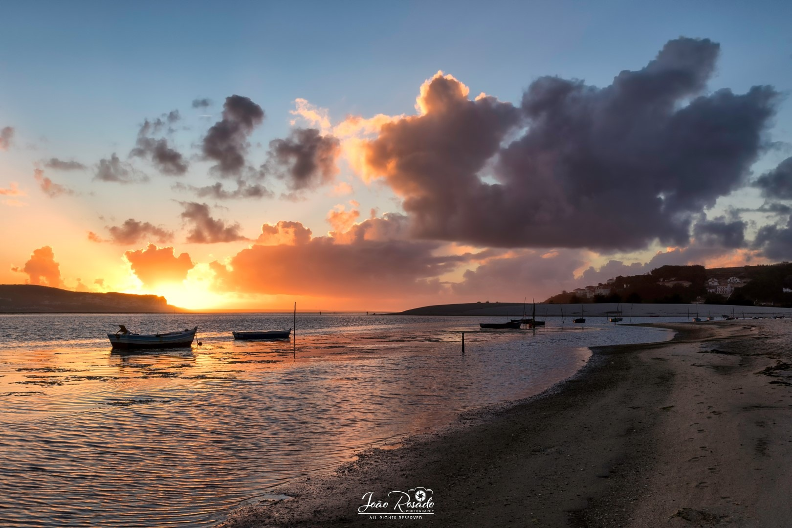 Sunset on the Lagoon by joao.m.rosado.9
