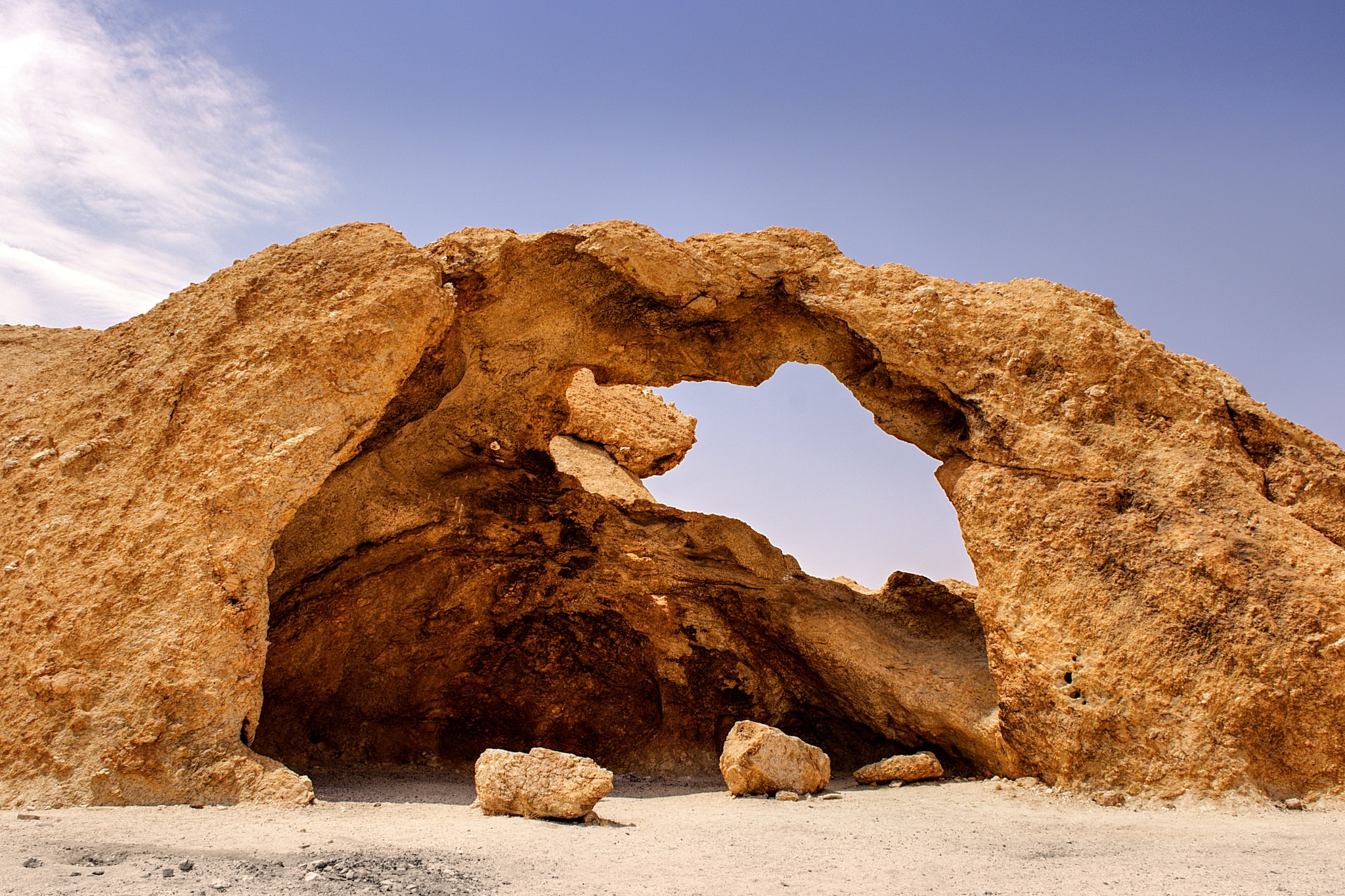 Rock Arch, Naukluft Nature Reserve, Namibia by Harrold Page