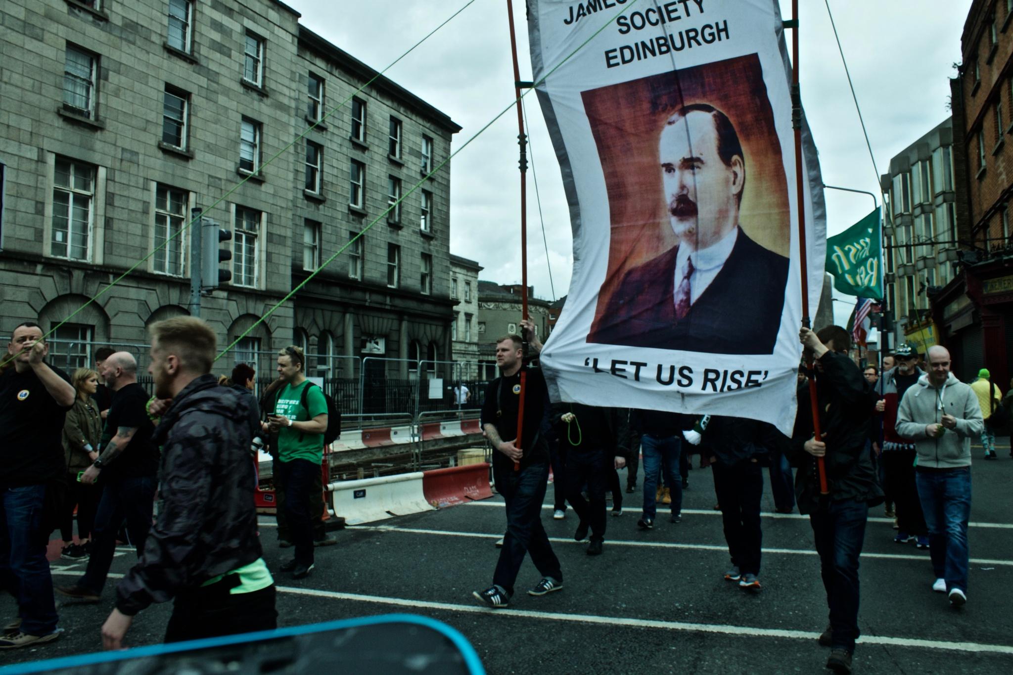Photo in Journalism #jamesconnolly #connolly #insurrection #paques #ireland #dublin #edinburgh