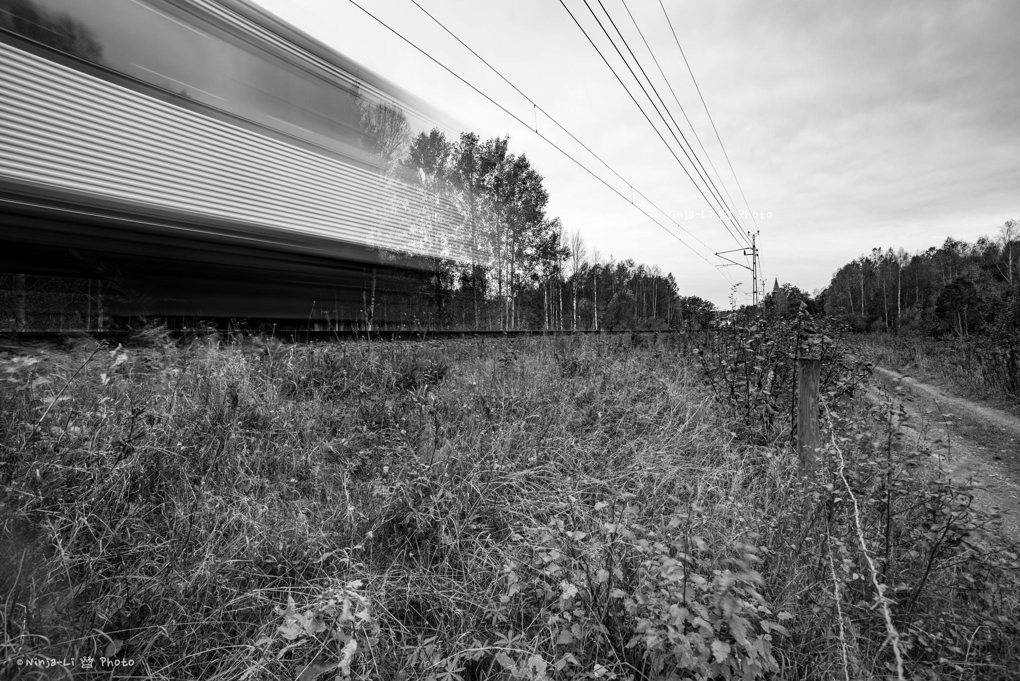 Ghost train by Ninja-Li Einarsen Stahre