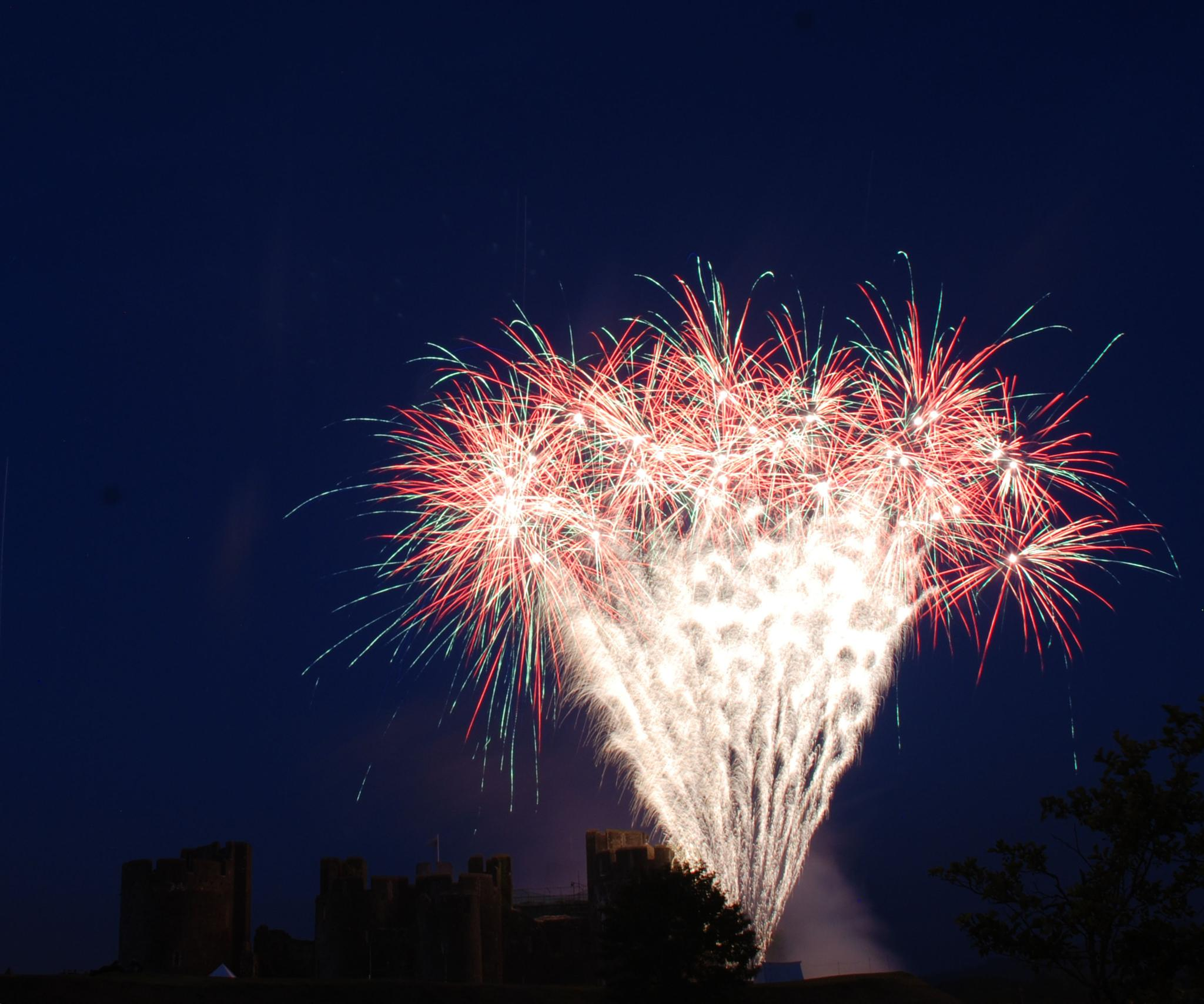 Firework Display by stevec