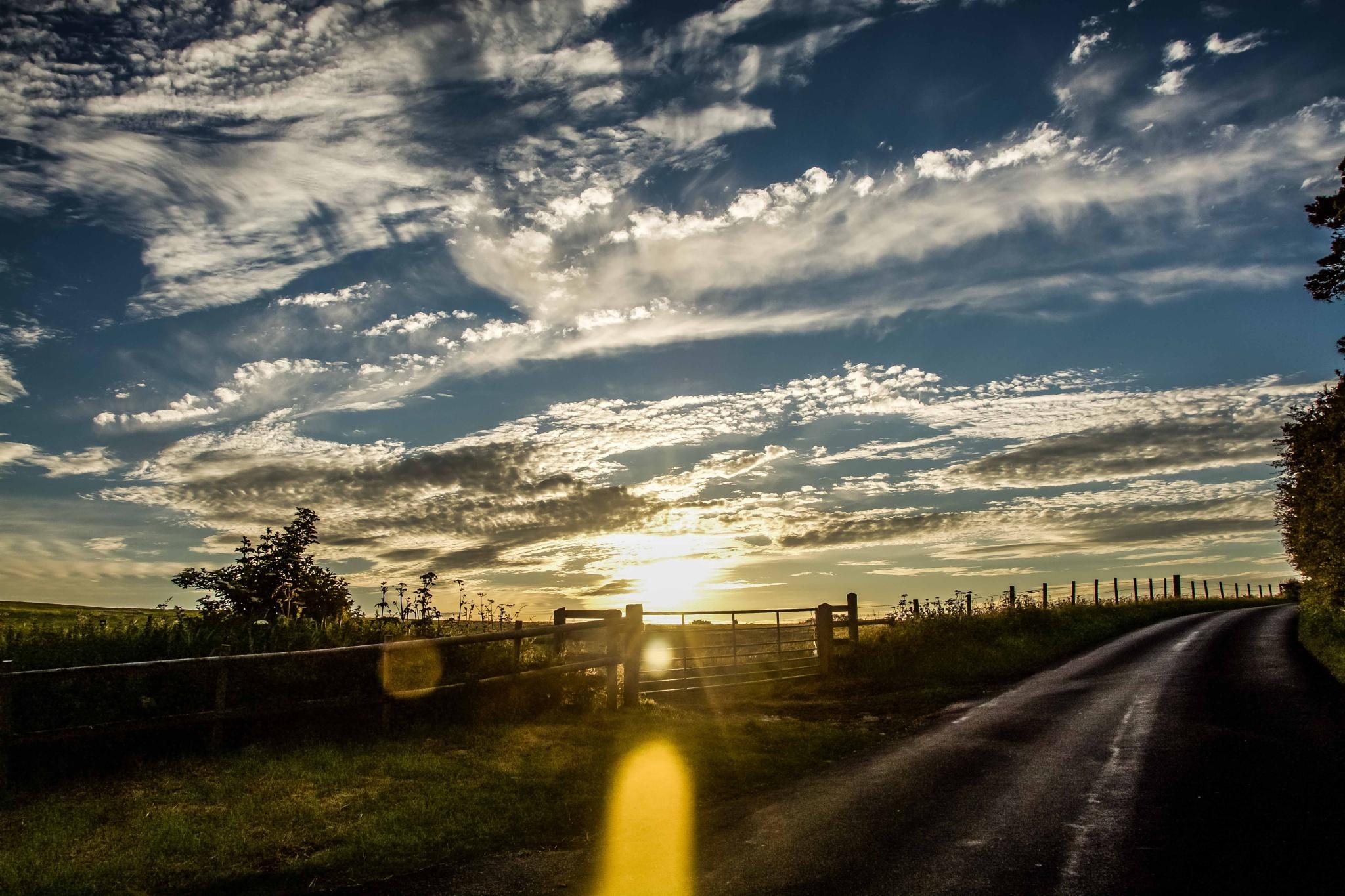 Sundown walk by Clement