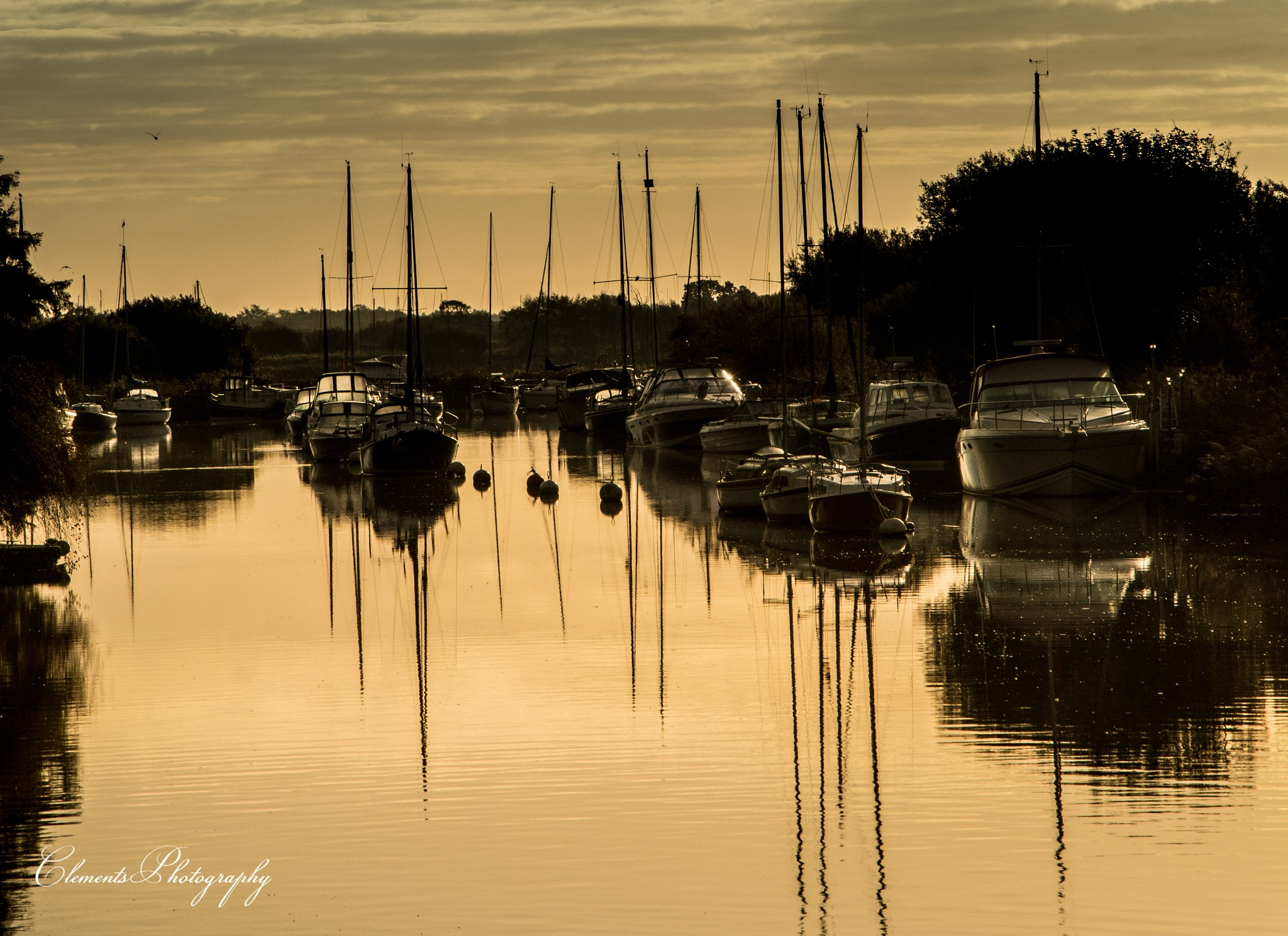 Copper reflections by Clement