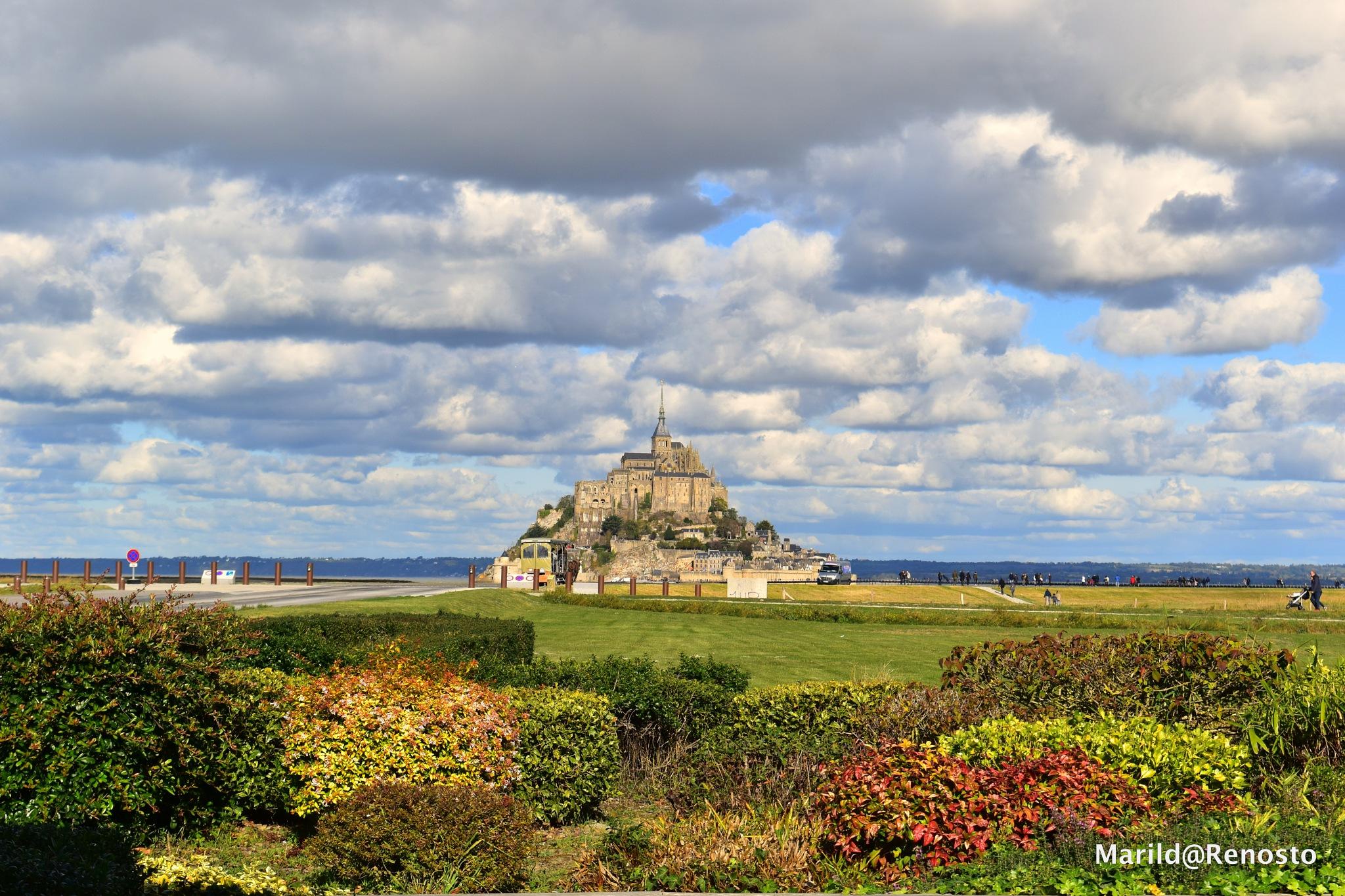 Mont-Saint-Michel - Fall 2018 by marilda.renosto