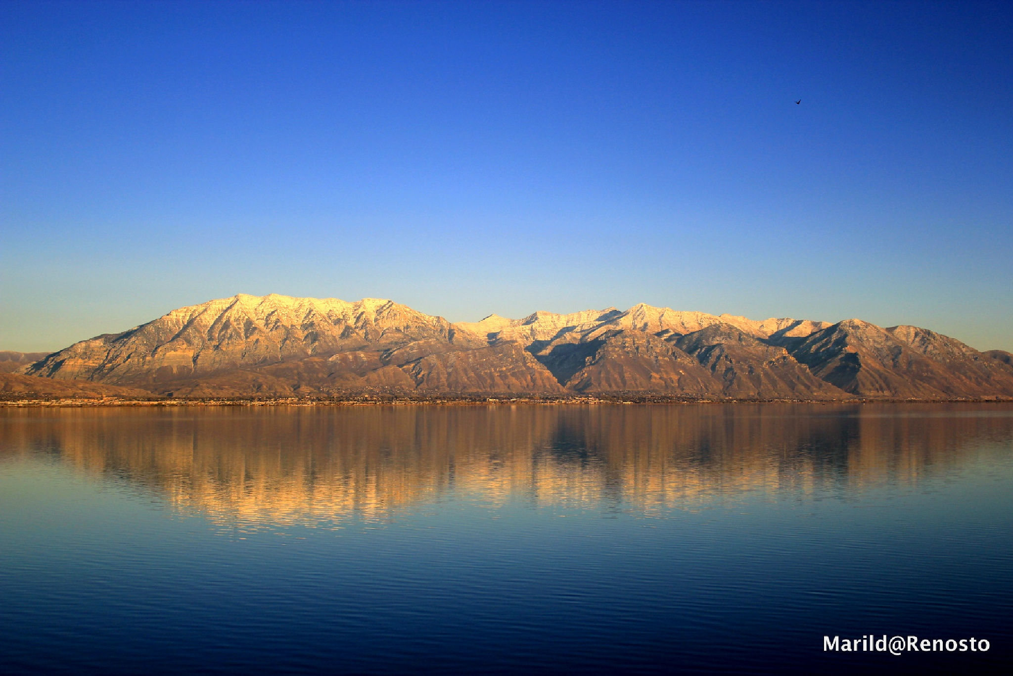 Mirrors in the lake by marilda.renosto