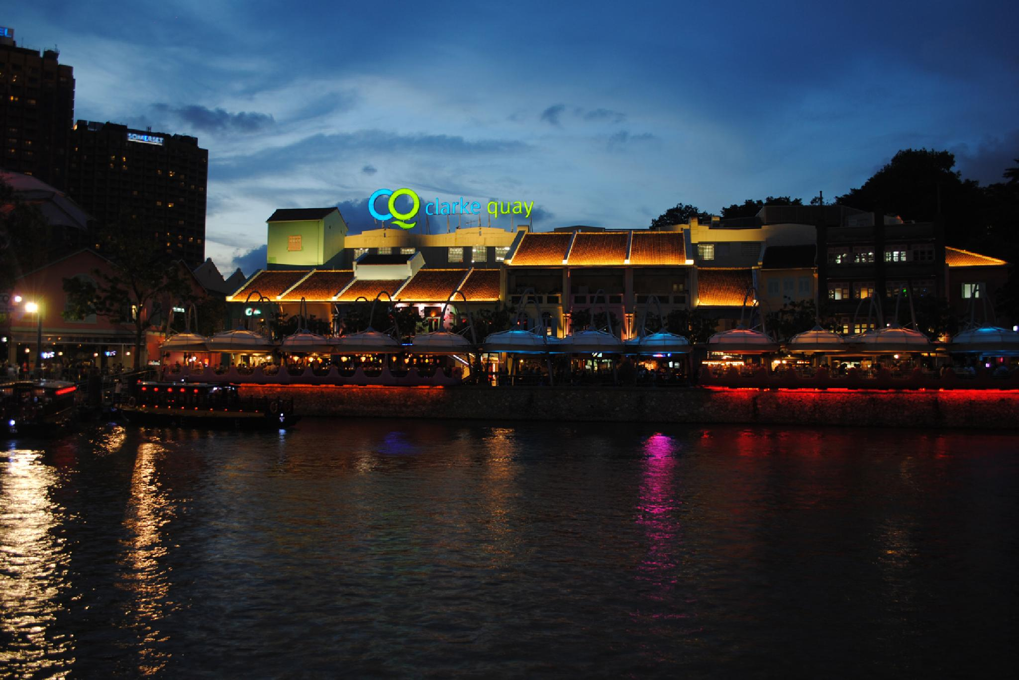 Clarke Quay by lequangchi