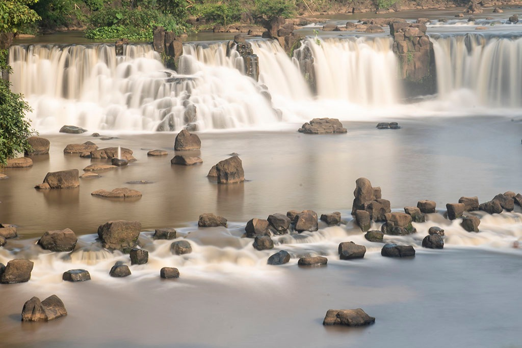 Giang Dien waterfall by lequangchi