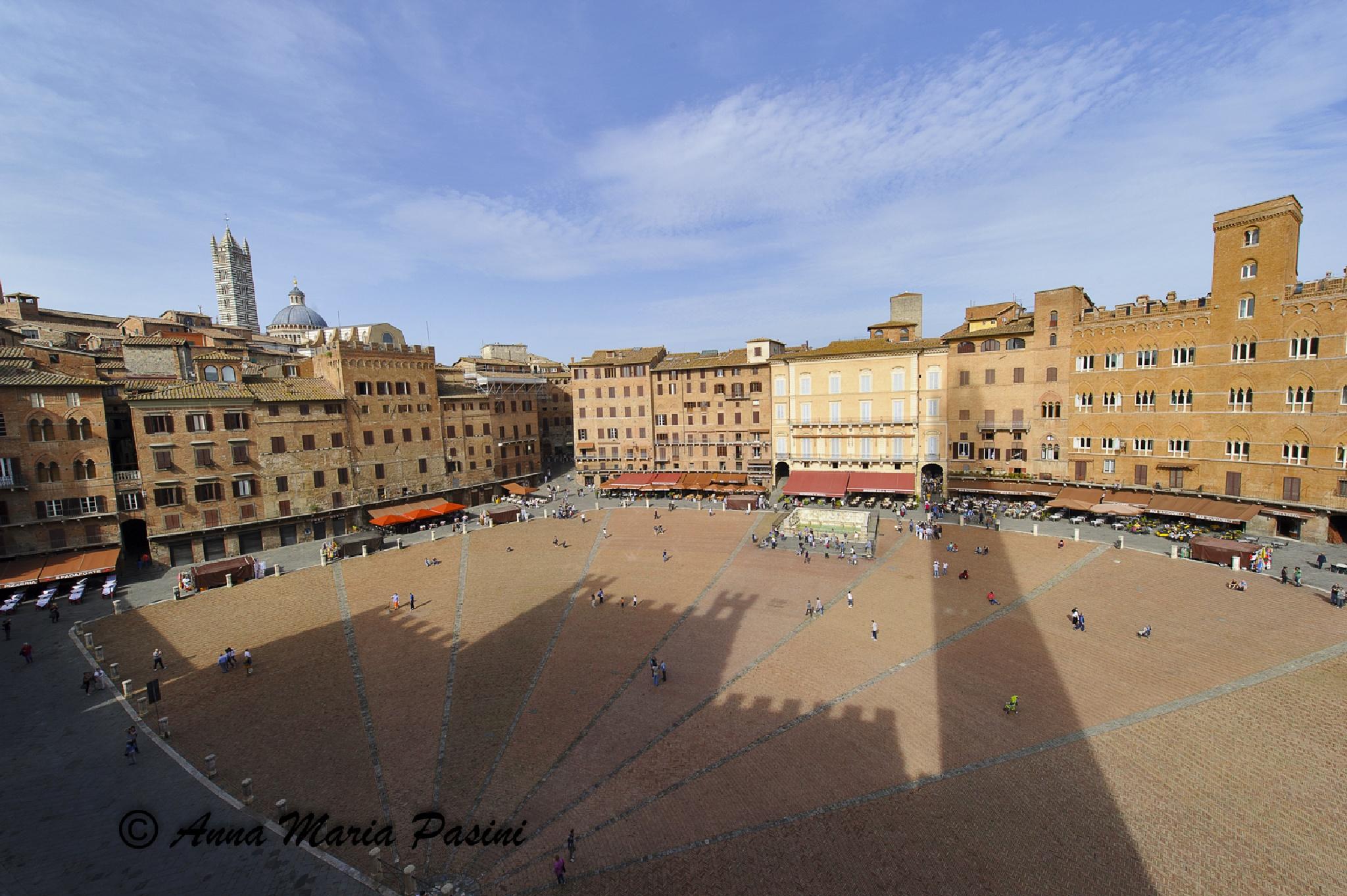 Siena, Piazza del Campo by annamariapasini