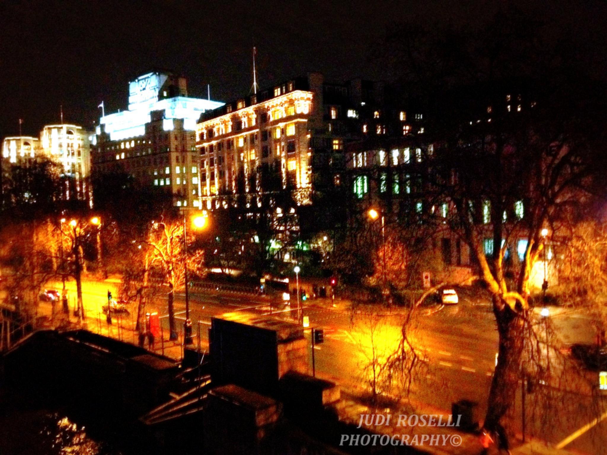 LONDON CITY NIGHTS by JUDI ROSELLI