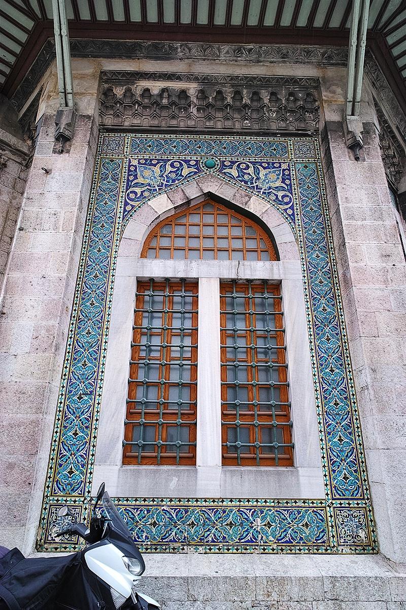 Tiled window by Osman Tümay