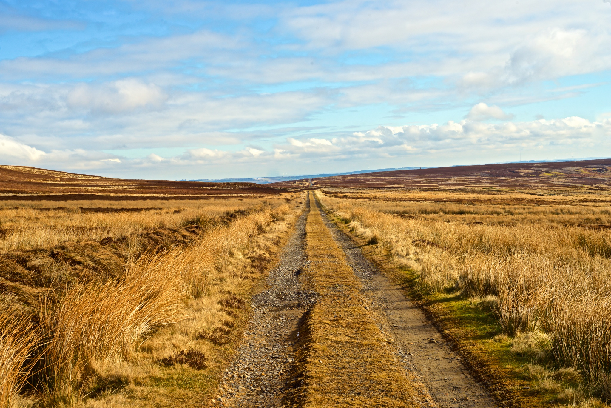C2C Cycle route near Waskerley Reservoir county Durham by michael.summers.100