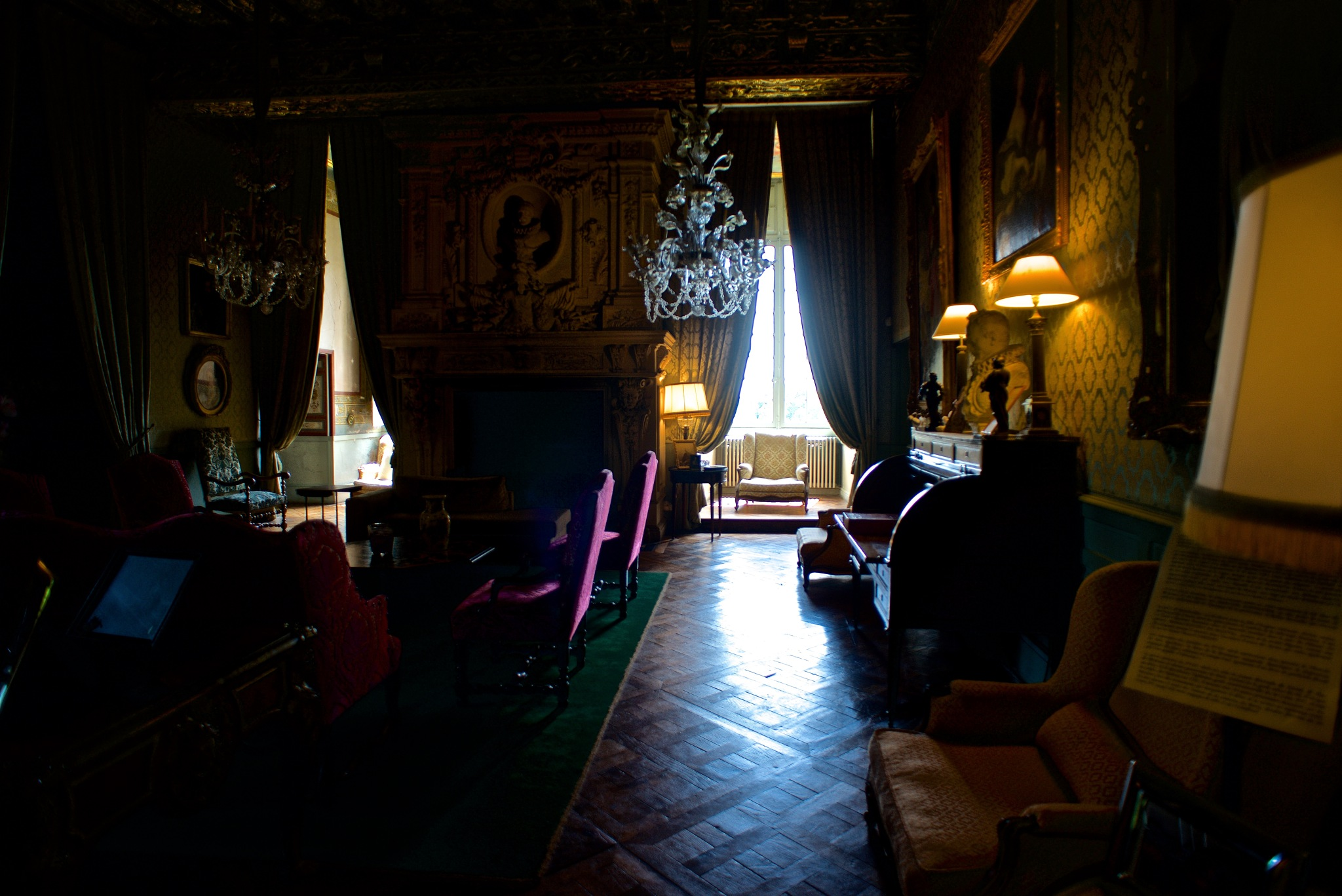 Interior view Château de Brissac by michael.summers.100