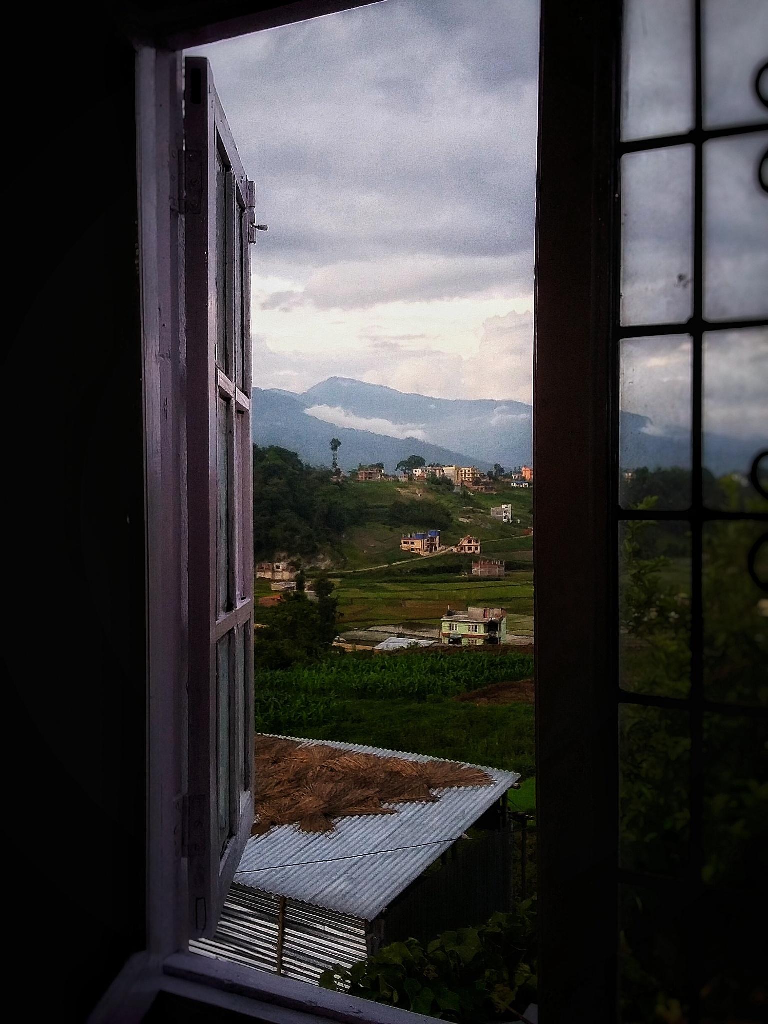 what a beautiful view  by sanjok shrestha