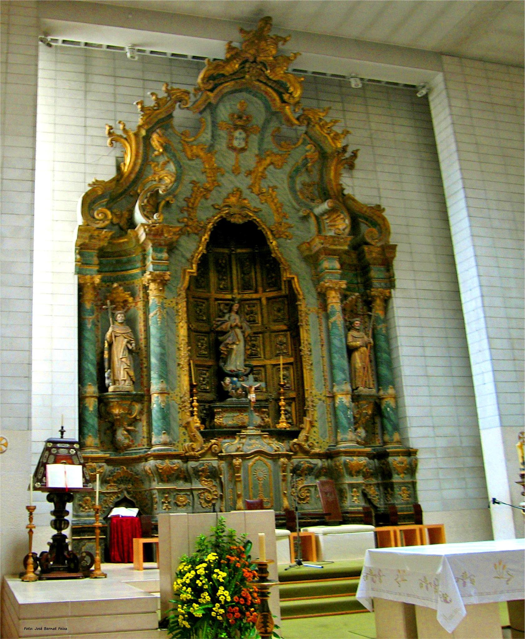 INTERIOR DE IGLESIA ; KERK INTERIEUR ; CHURCH INTERIOR by José Bernat Feixa