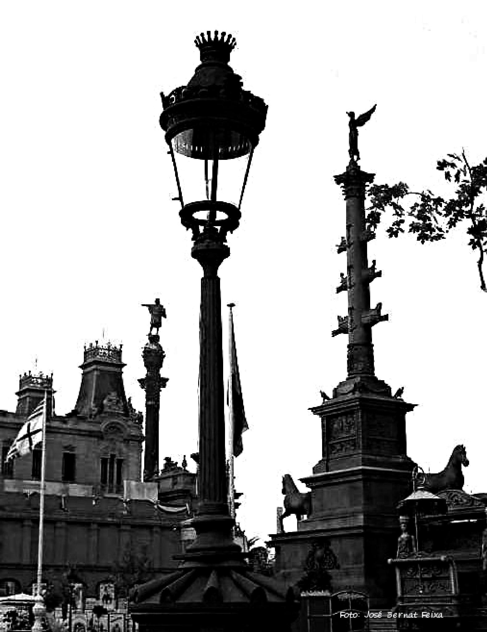 SILUETAS, SILHOUETTEN, SILHOUETTES, Barcelona (60's) by José Bernat Feixa