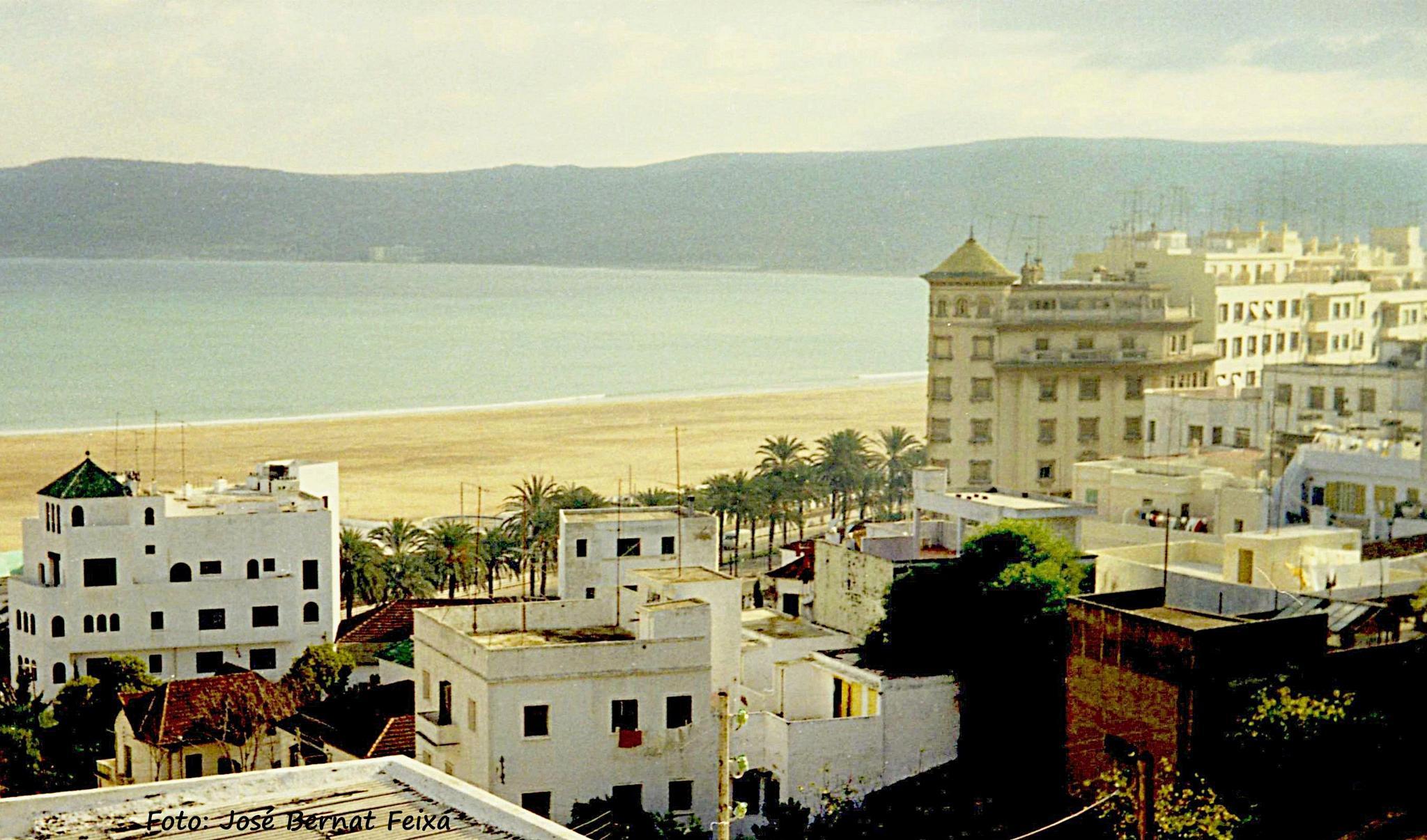 VISTA, LANDSCHAP, LANDSCAPE, Tanger (1971) by José Bernat Feixa