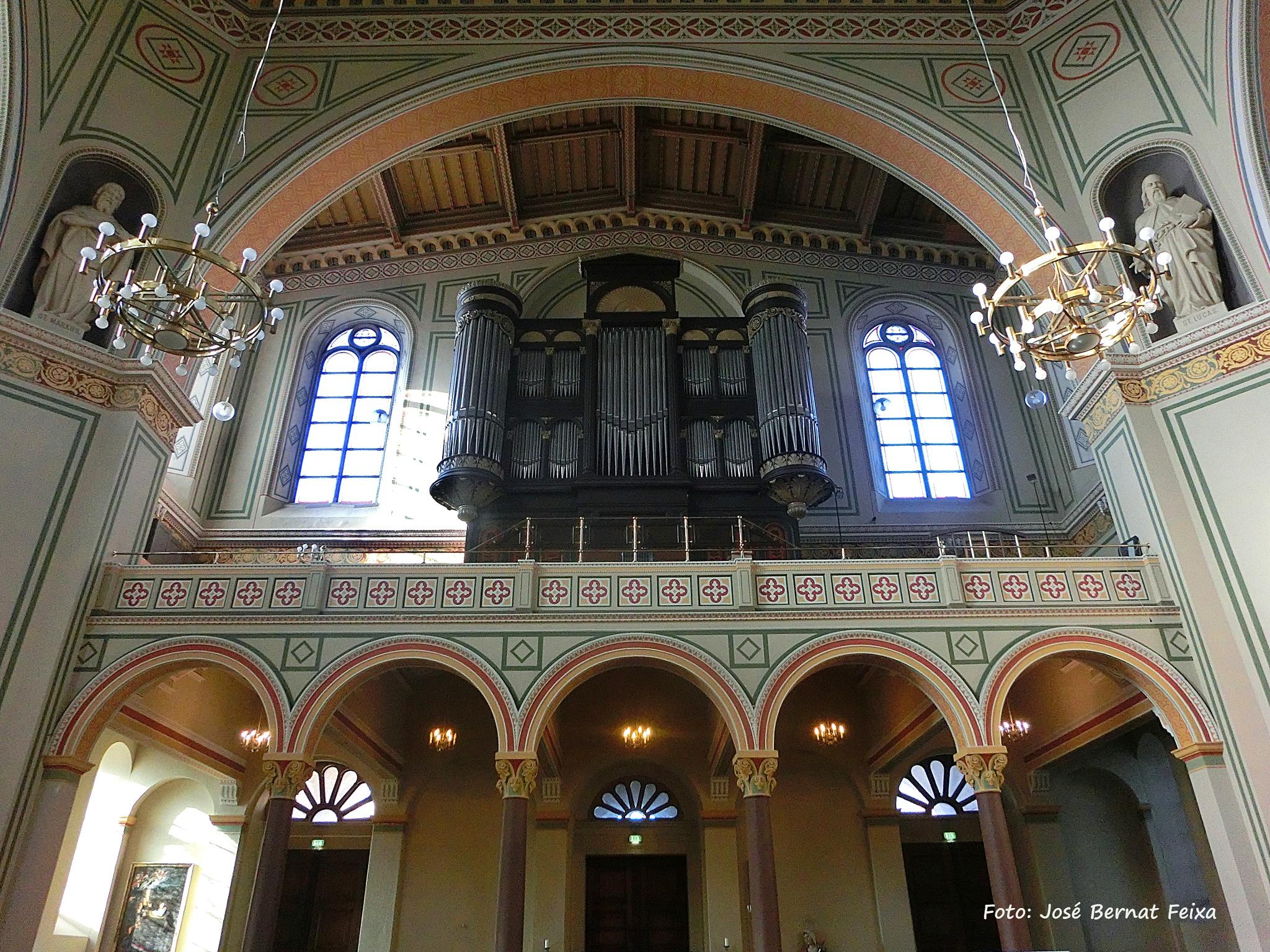 Interior  Kirche St. Peter und Paul, Potsdam by José Bernat Feixa