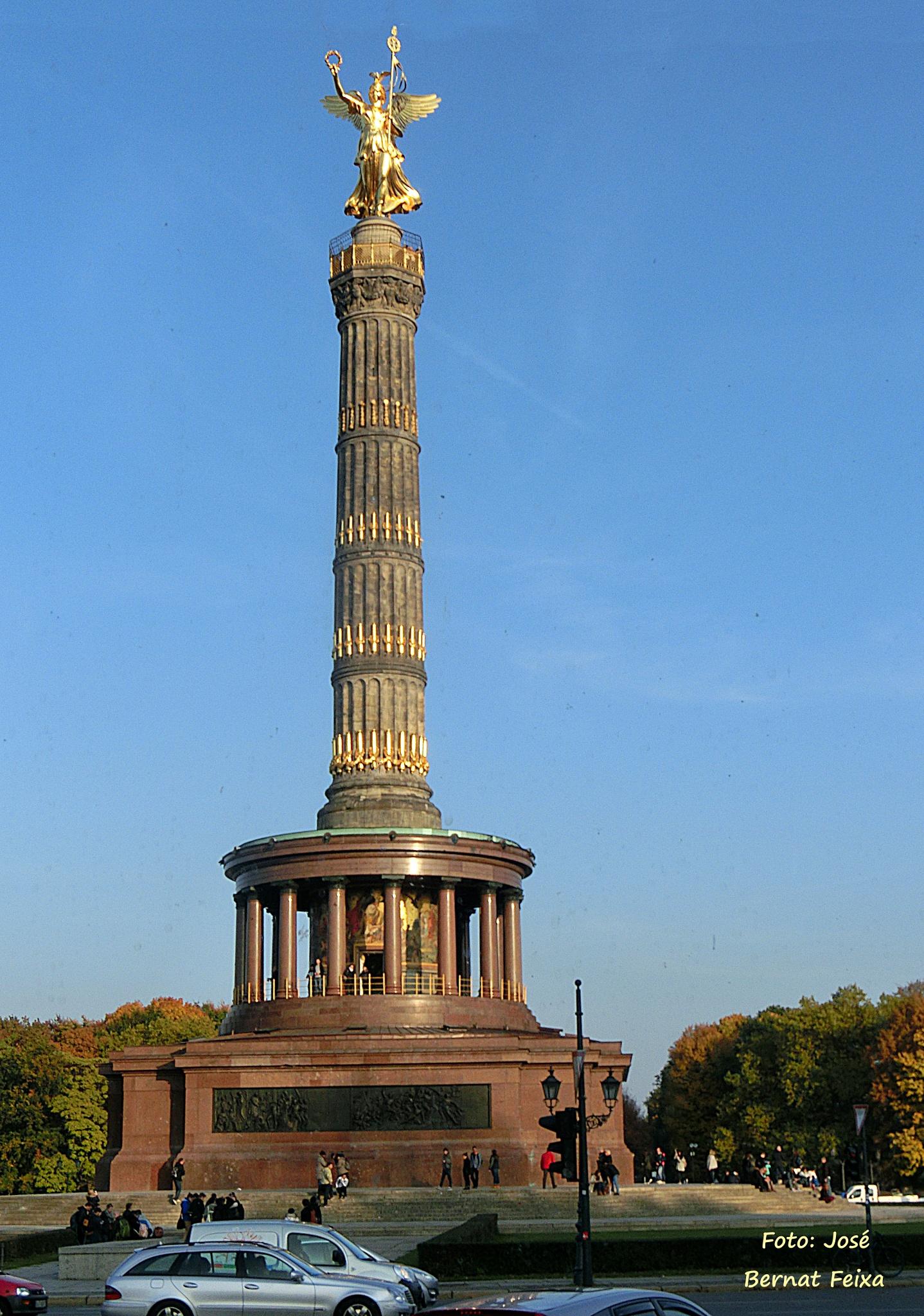 Columna de la Victoria, Siegessäule, Victory Column of Berlín by José Bernat Feixa