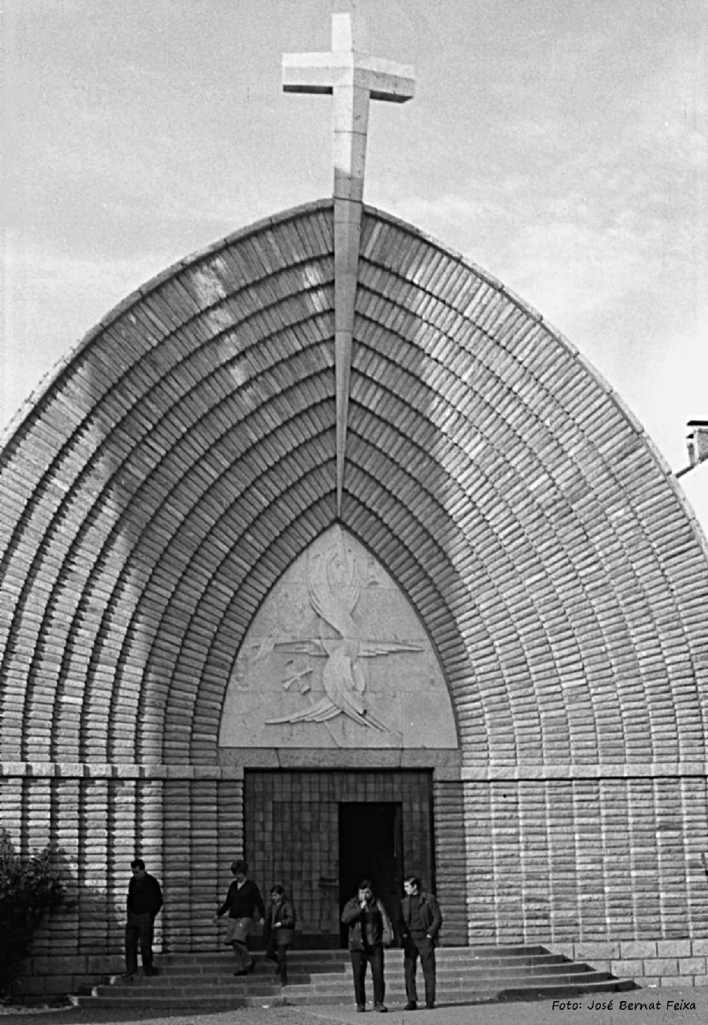 IGLESIA, KERK, CHURCH (60's) by José Bernat Feixa