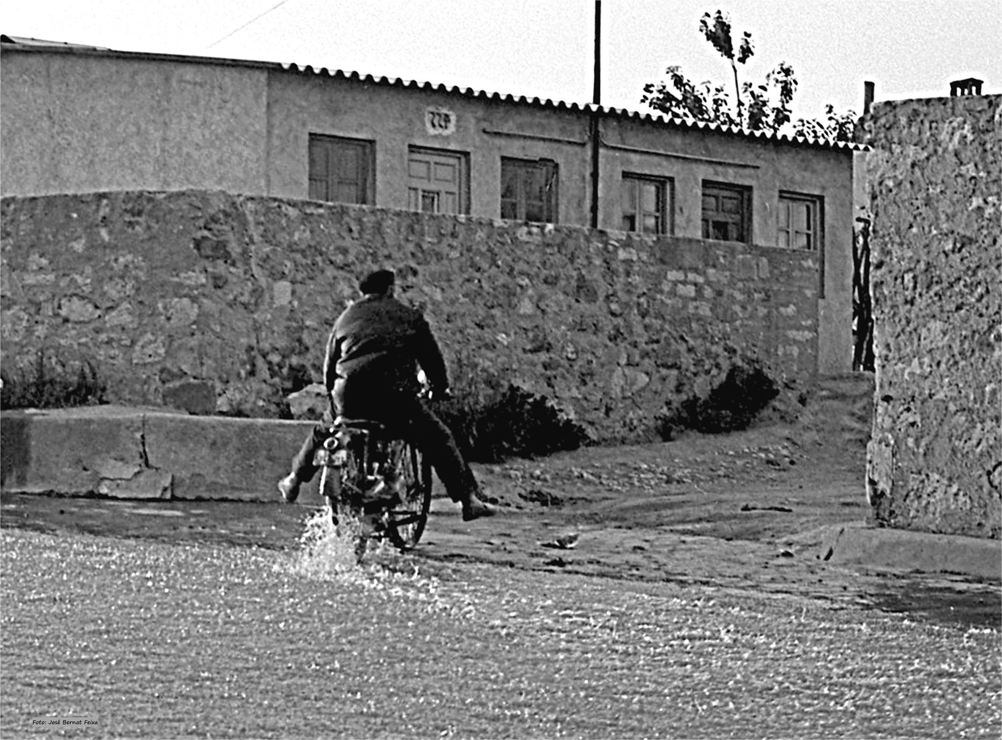 PIÉS SECOS; DROGEN VOETEN ; DRY VEET (60's) by José Bernat Feixa