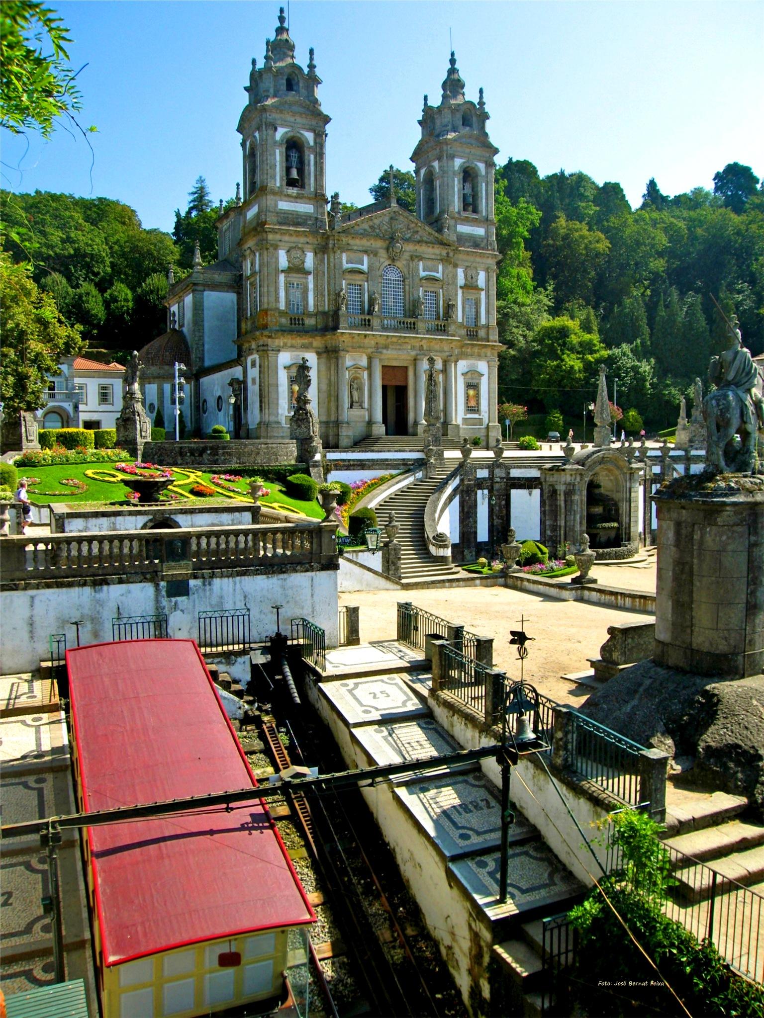 El Santuario del Bom Jésus ; El Santuario del Buen Jesús ; Het Heiligdom van de Goede Jezus by José Bernat Feixa