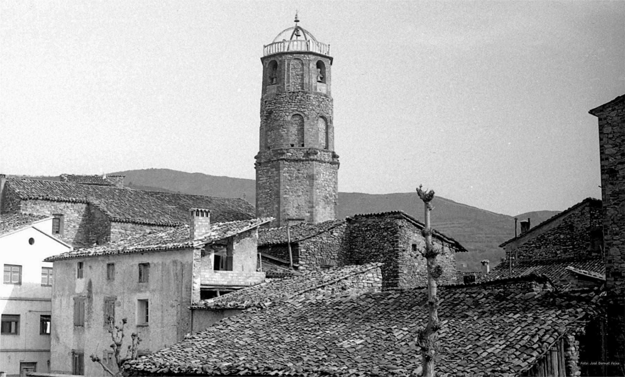 TORRE DE LA IGLESIA; KERKTOREN; CHURCH TOWER (60's) by José Bernat Feixa