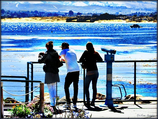 Three at the Sea by kristine.kenyon