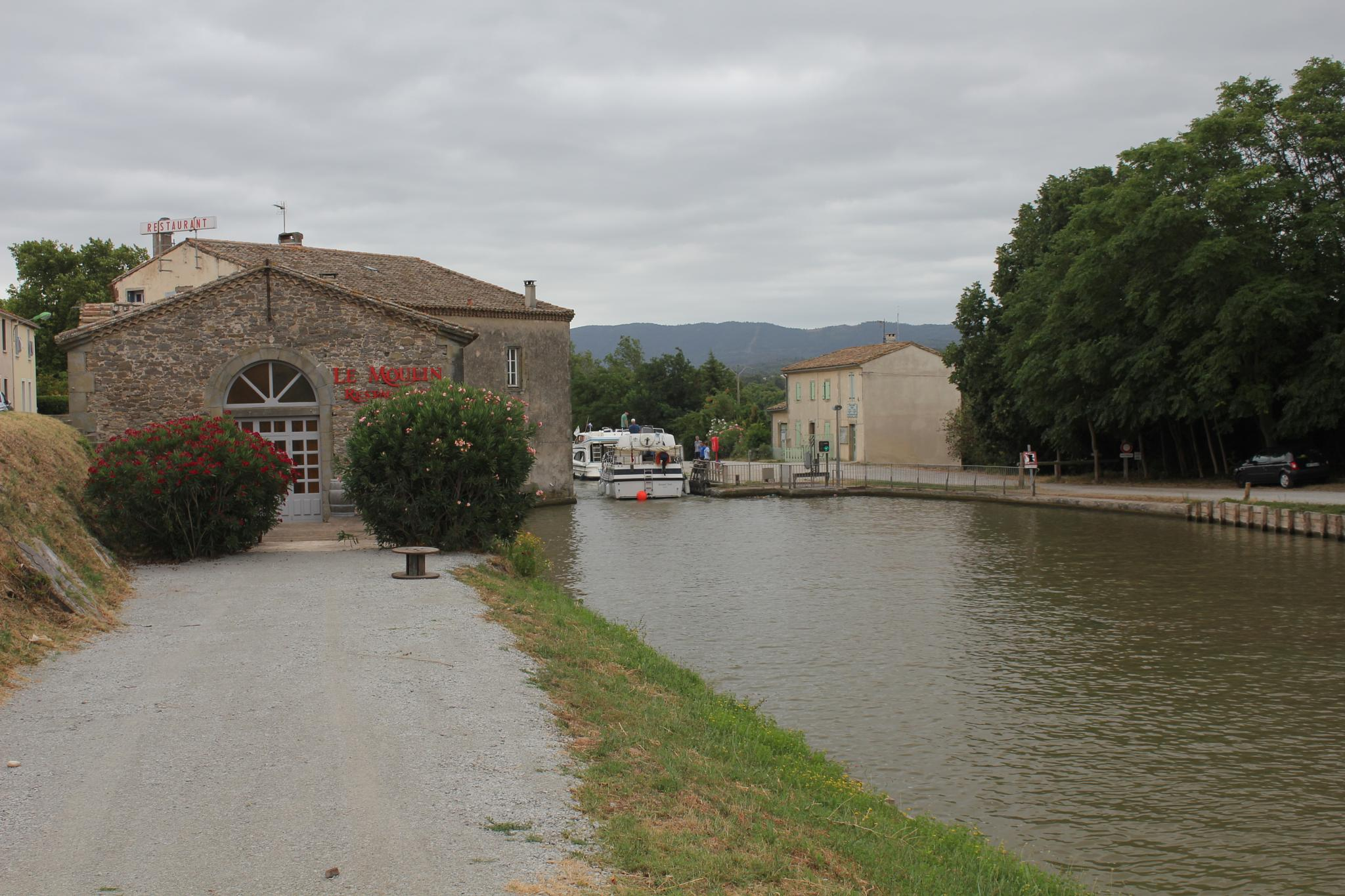 The Mill by the lock, canal du midi by colin.savidge