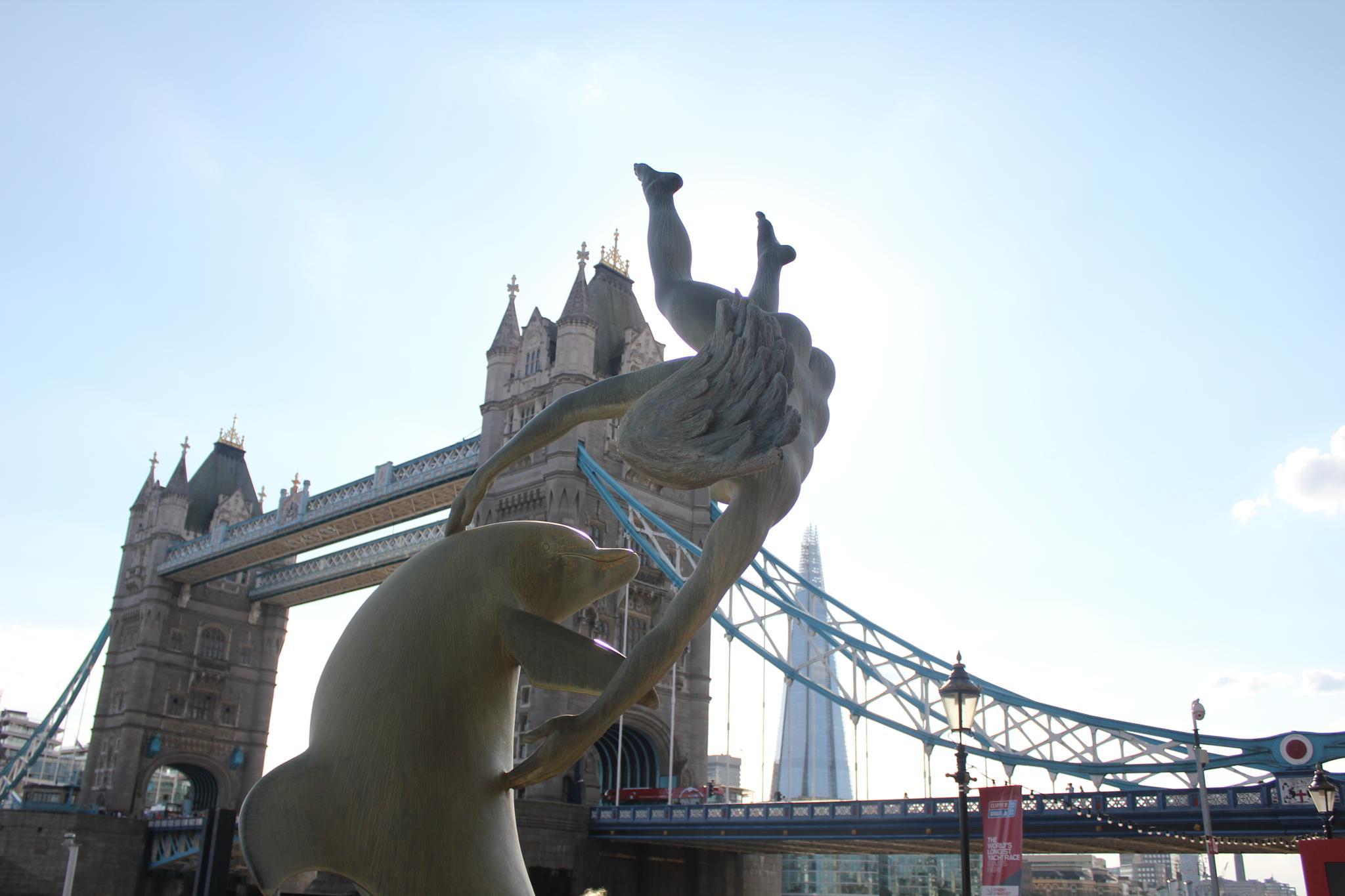 Girl & Dolphin, St Katherine Dock 2 by colin.savidge