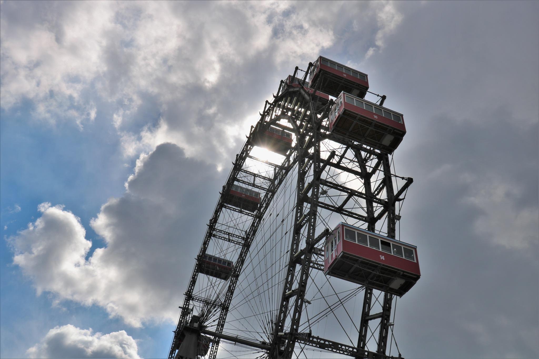 Prater Wien - Riesenrad - Ferris wheel by pinibit