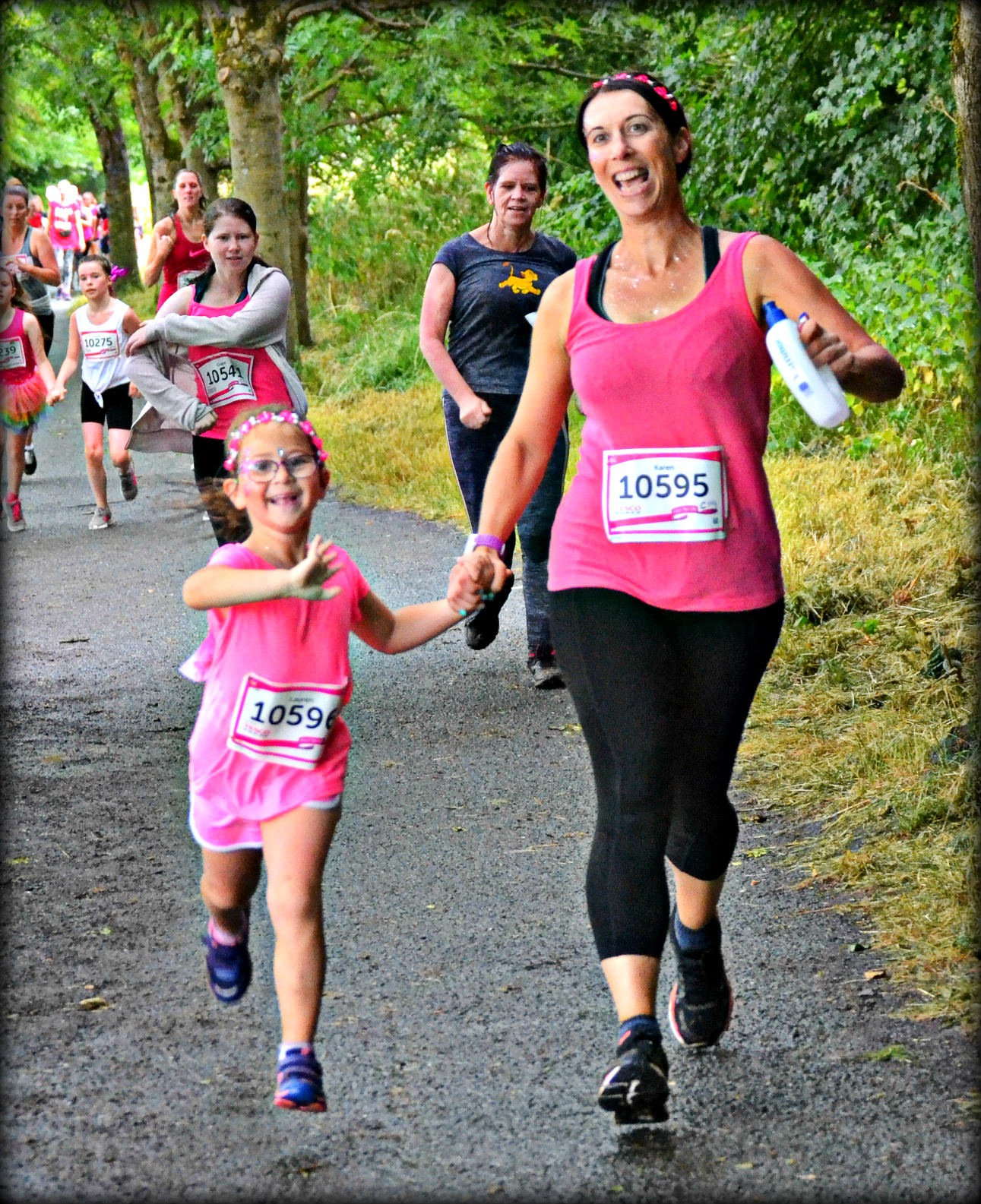 Race for Life by Hooligans Dad