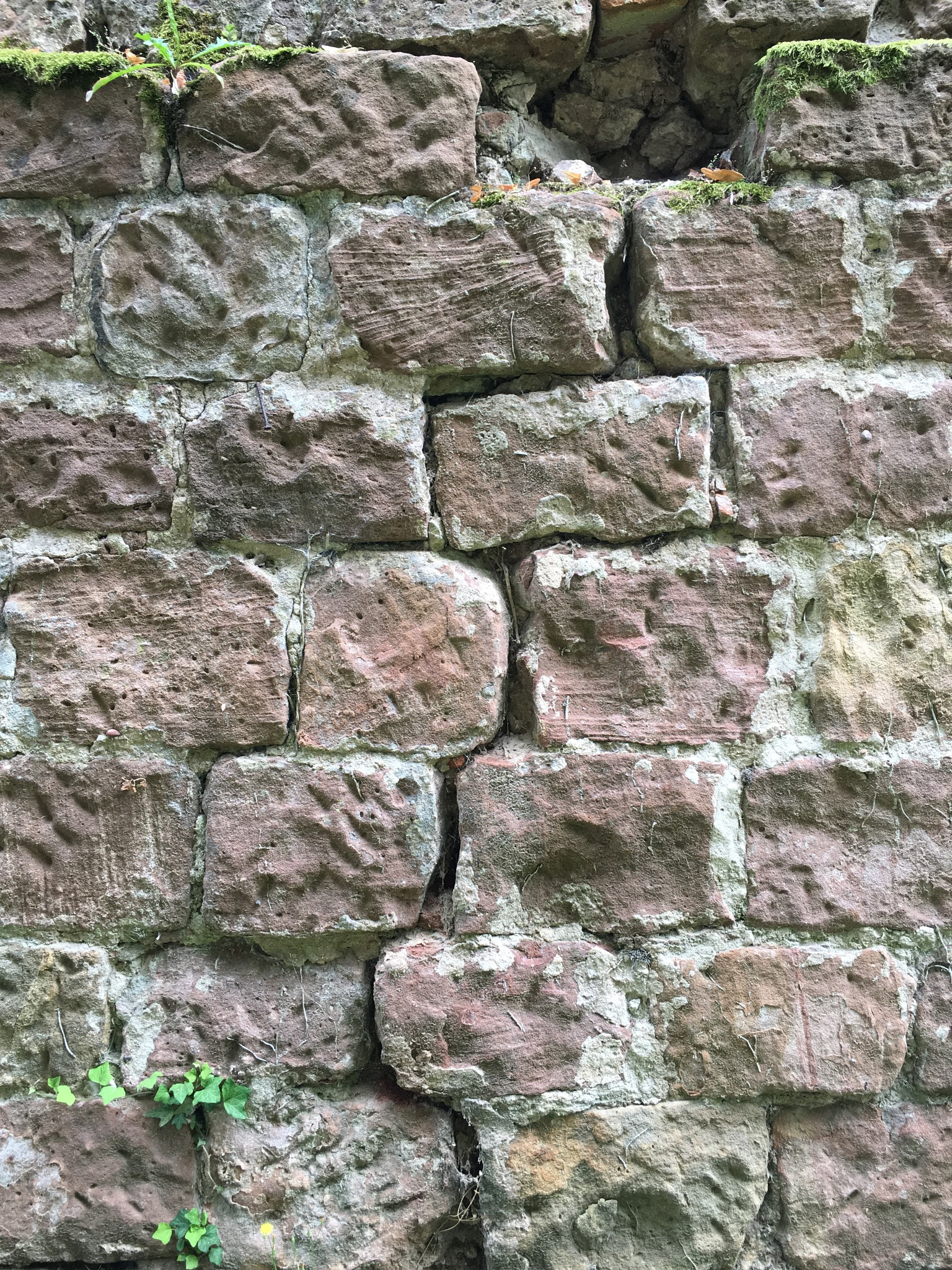 All in all it's just another crack in the wall...  by Inman