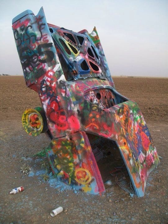 Cadillac ranch by gelshore2
