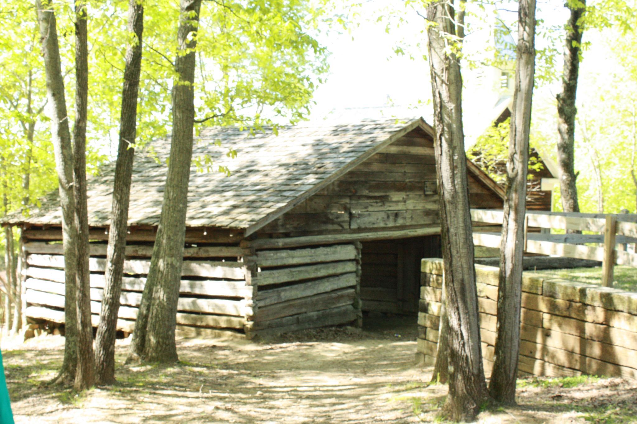 Old Barn at Palisades Park in Oneonta, AL by angela.hatchett.161