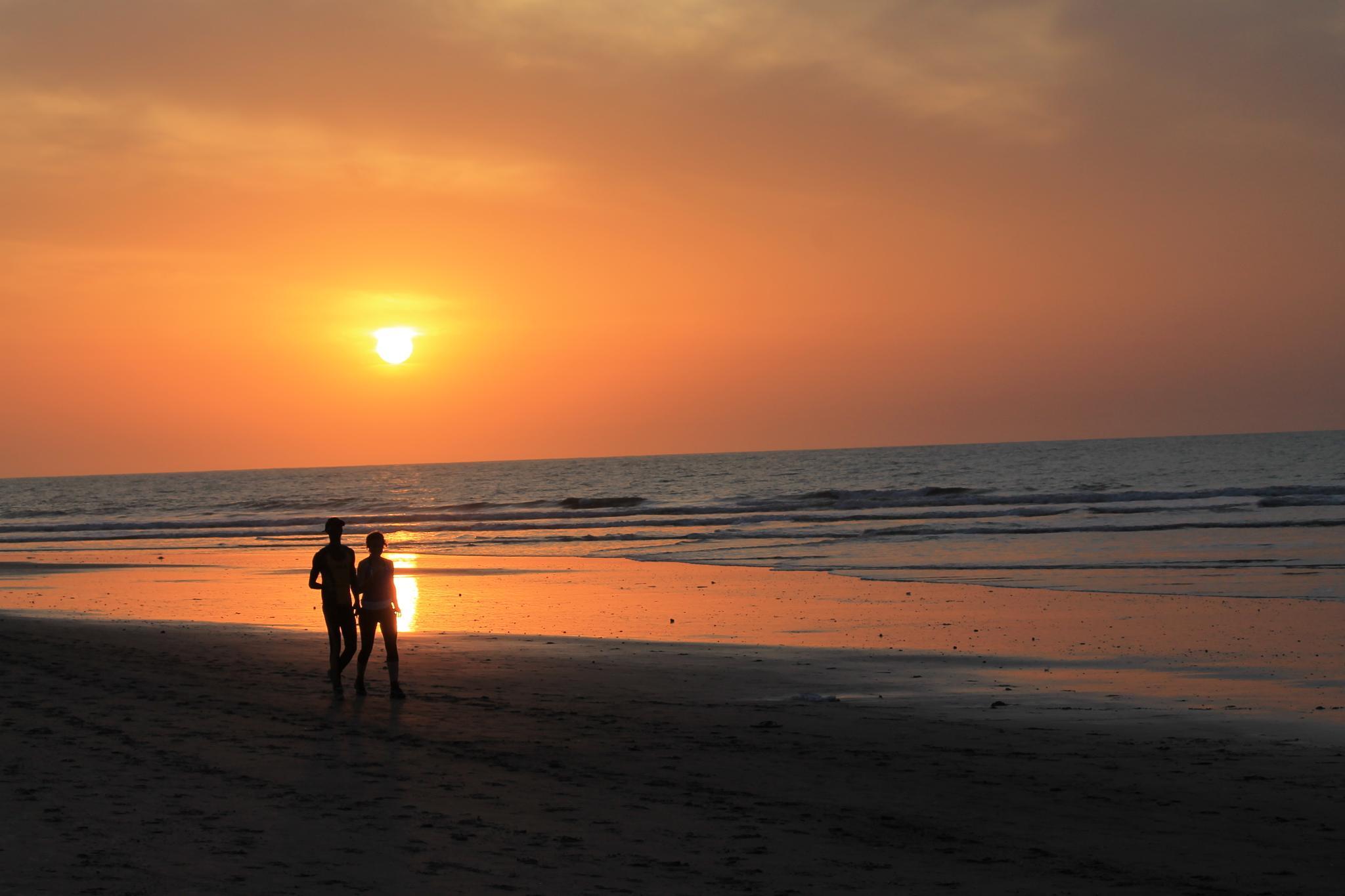 Sunset Gambia by Erica van Dijk