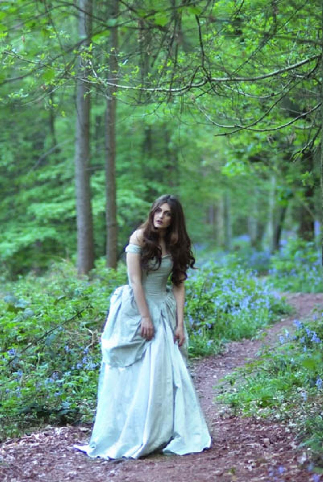 In The Bluebells by James Lawrie
