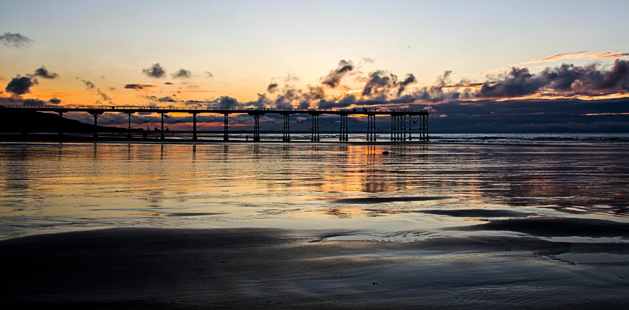 Saltburn Sunset by martin.davis.5243817