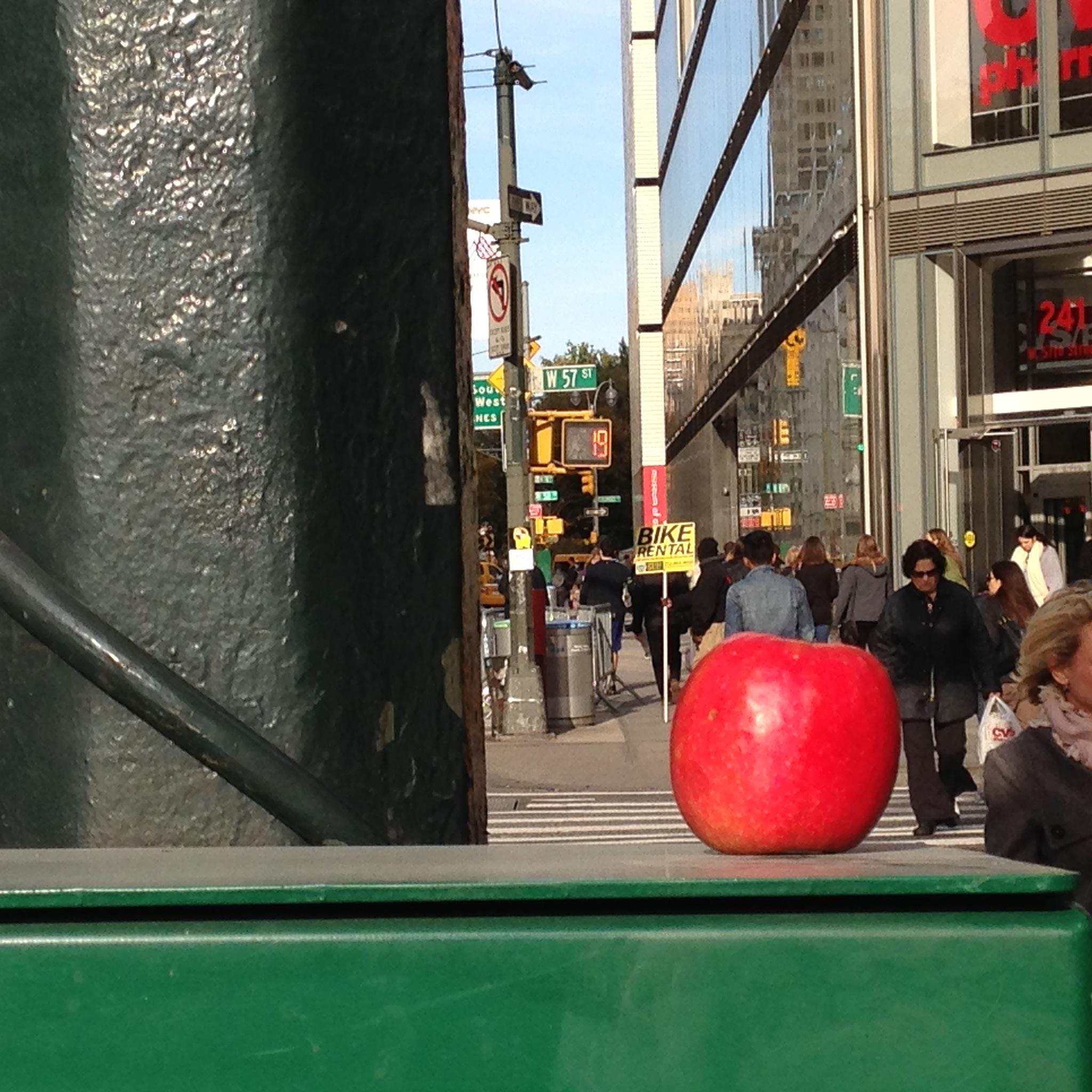 Photo in Cityscape #apple #big apple #fruit #nyc #manhattan