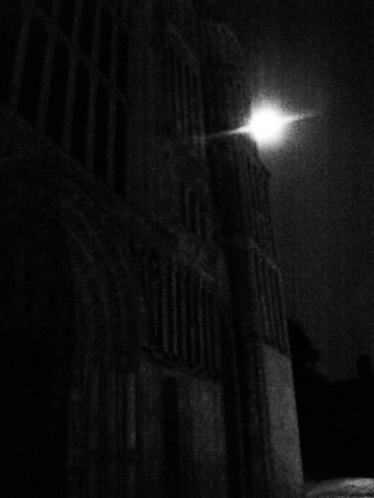 Rochester Cathedral and full moon by didibergman3