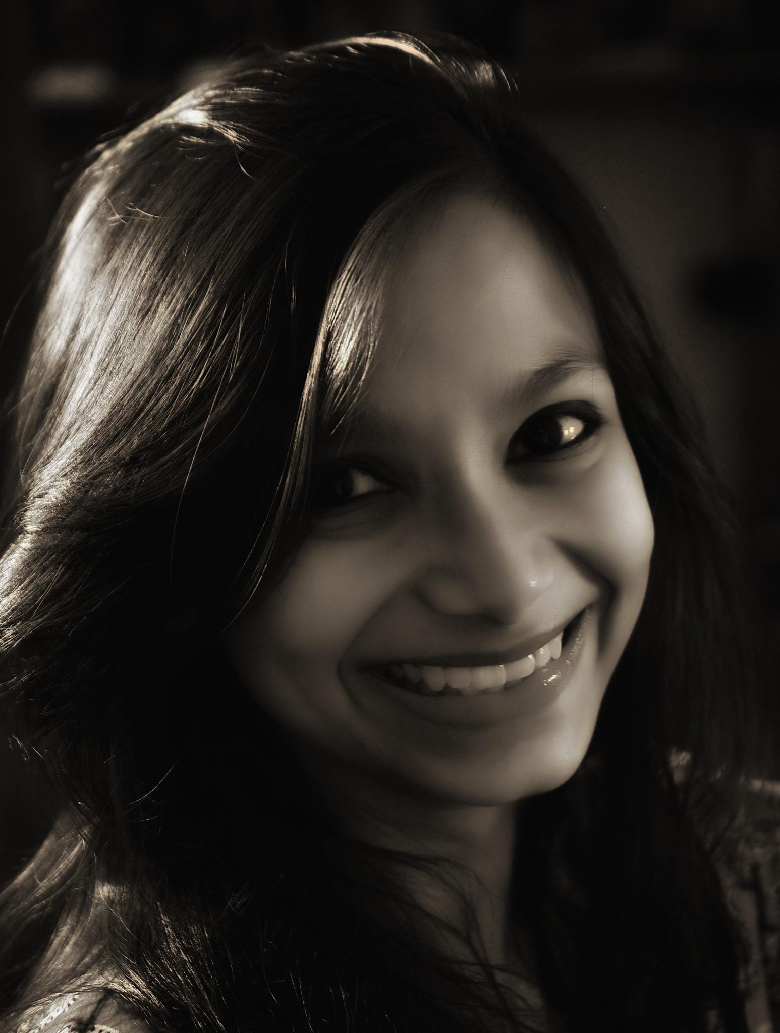 Portrait study in monochrome by abhrajitde