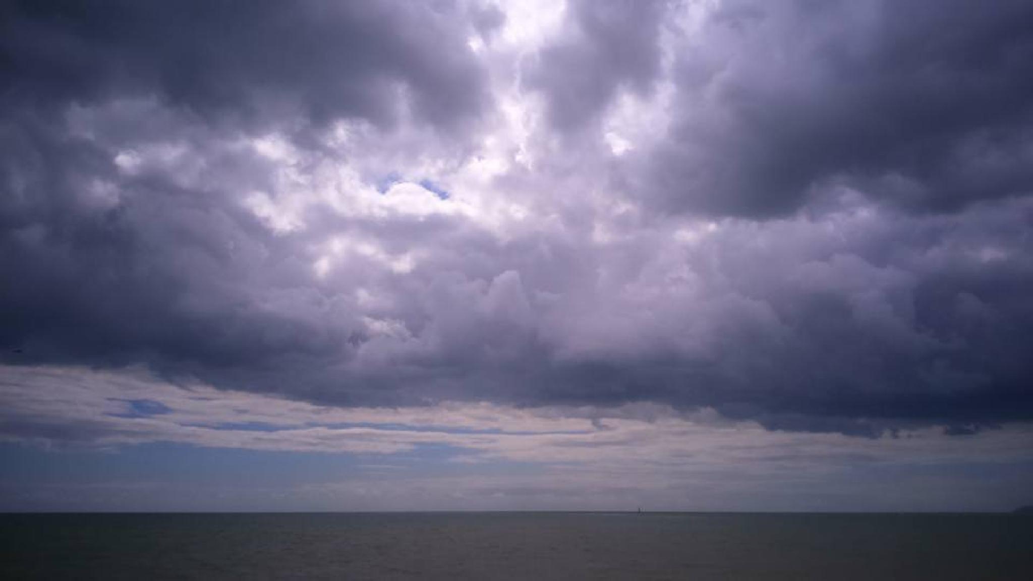 The Sky An The Sea by Arron Webb