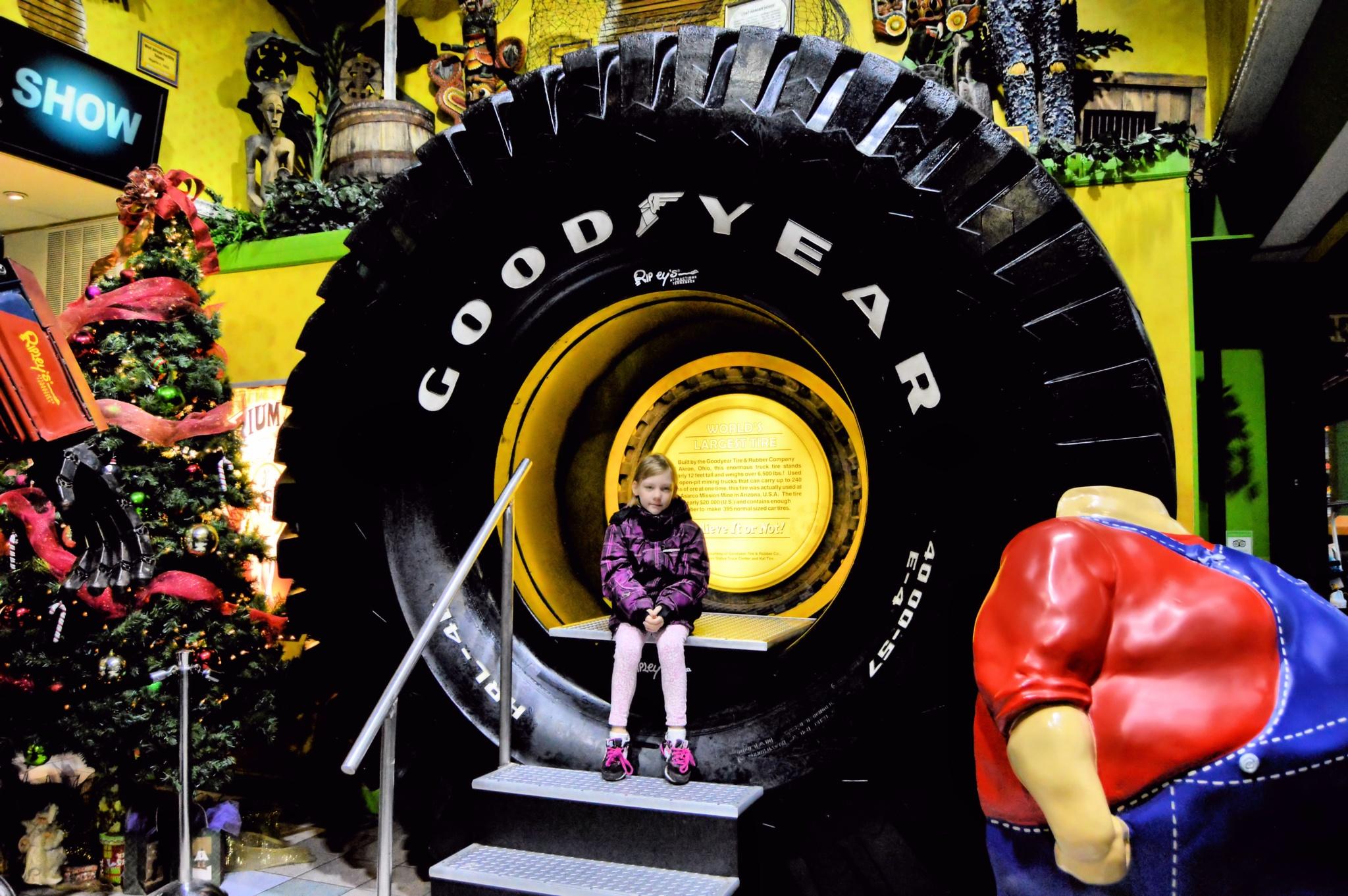 World's Largest Goodyear Tire by Jennifer Asher