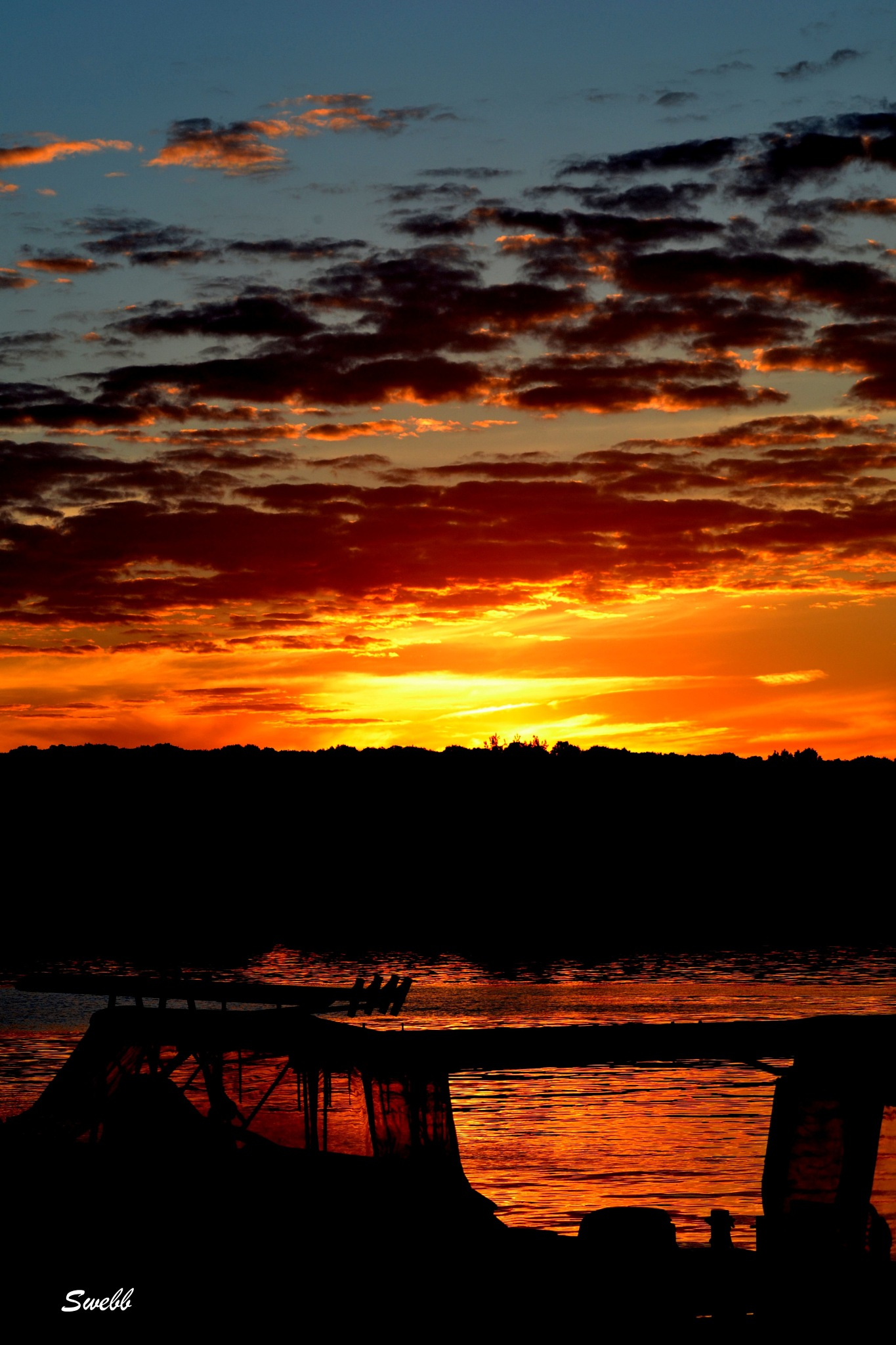 Marina Sunset by Steve Webb