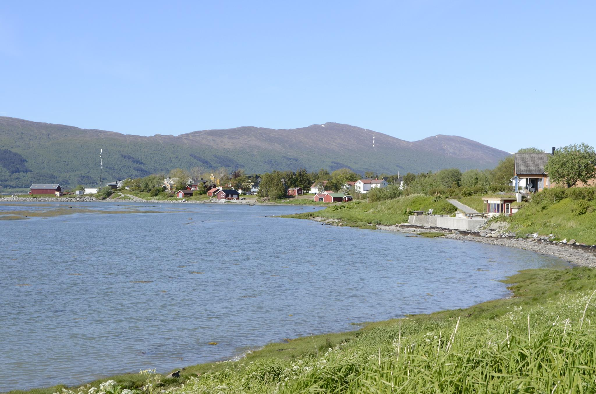Nesna by the fjord. by Morten Solum