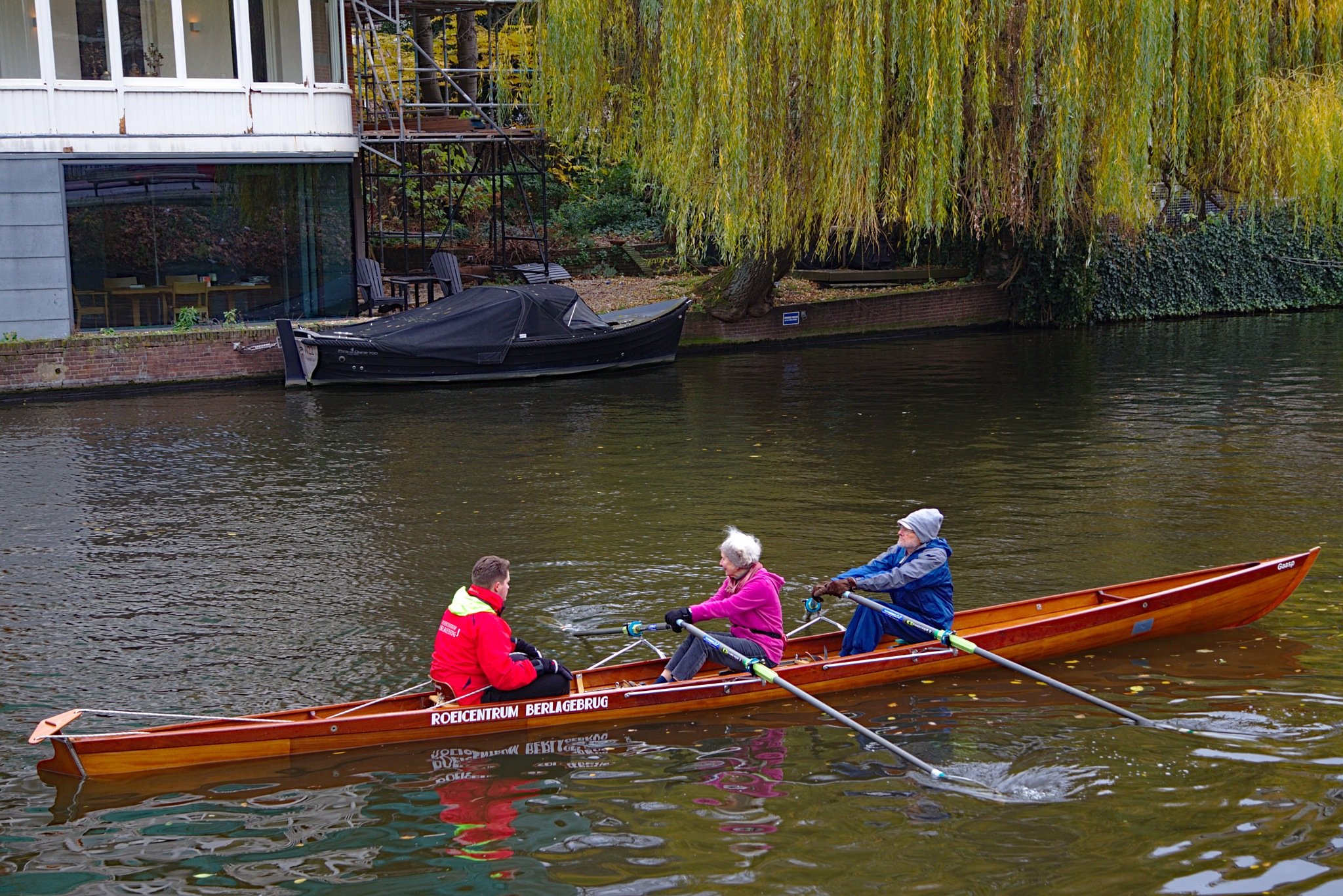 Winter exercise  in Amsterdam by Anders Weinberg