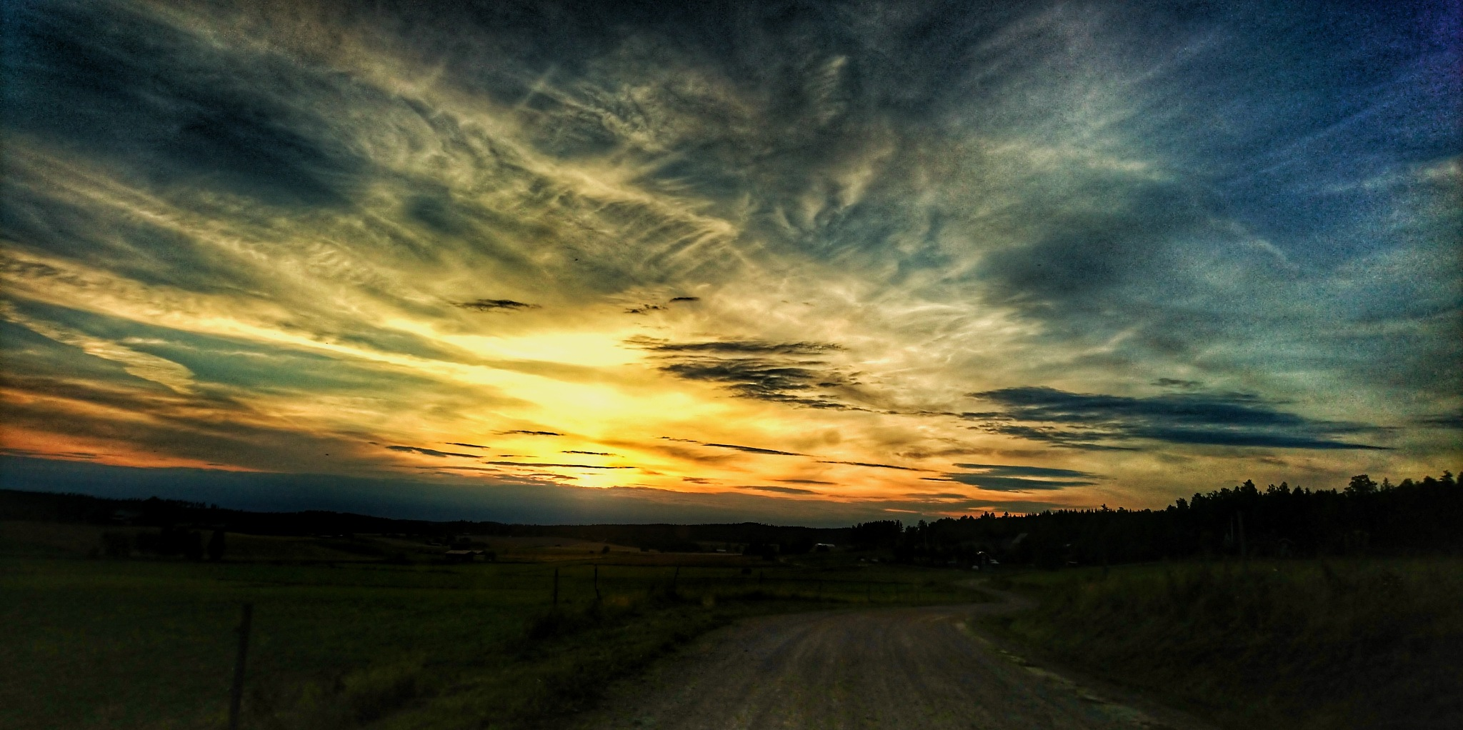 Sunset  by rosis.quick